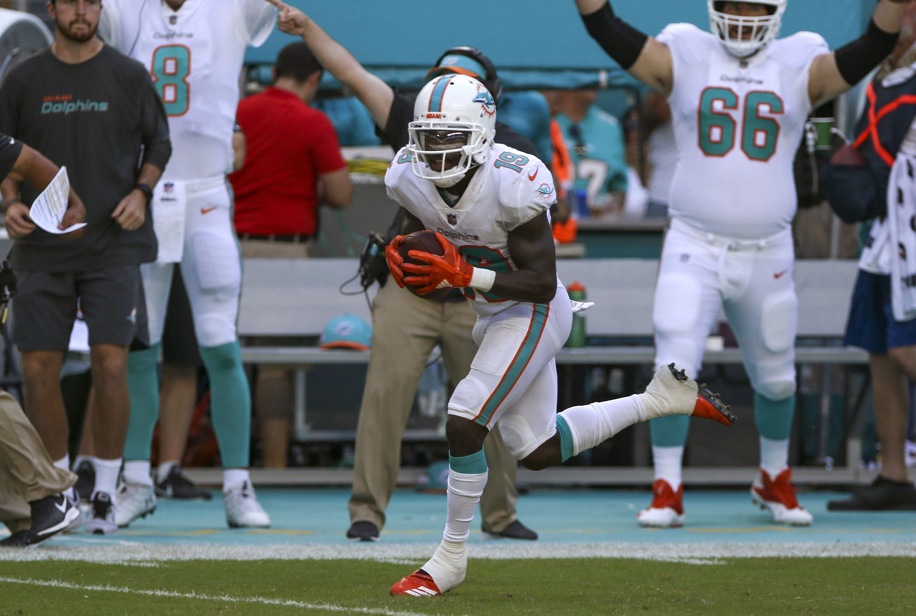 Jakeem Grant taking reps but playing smart in his recovery