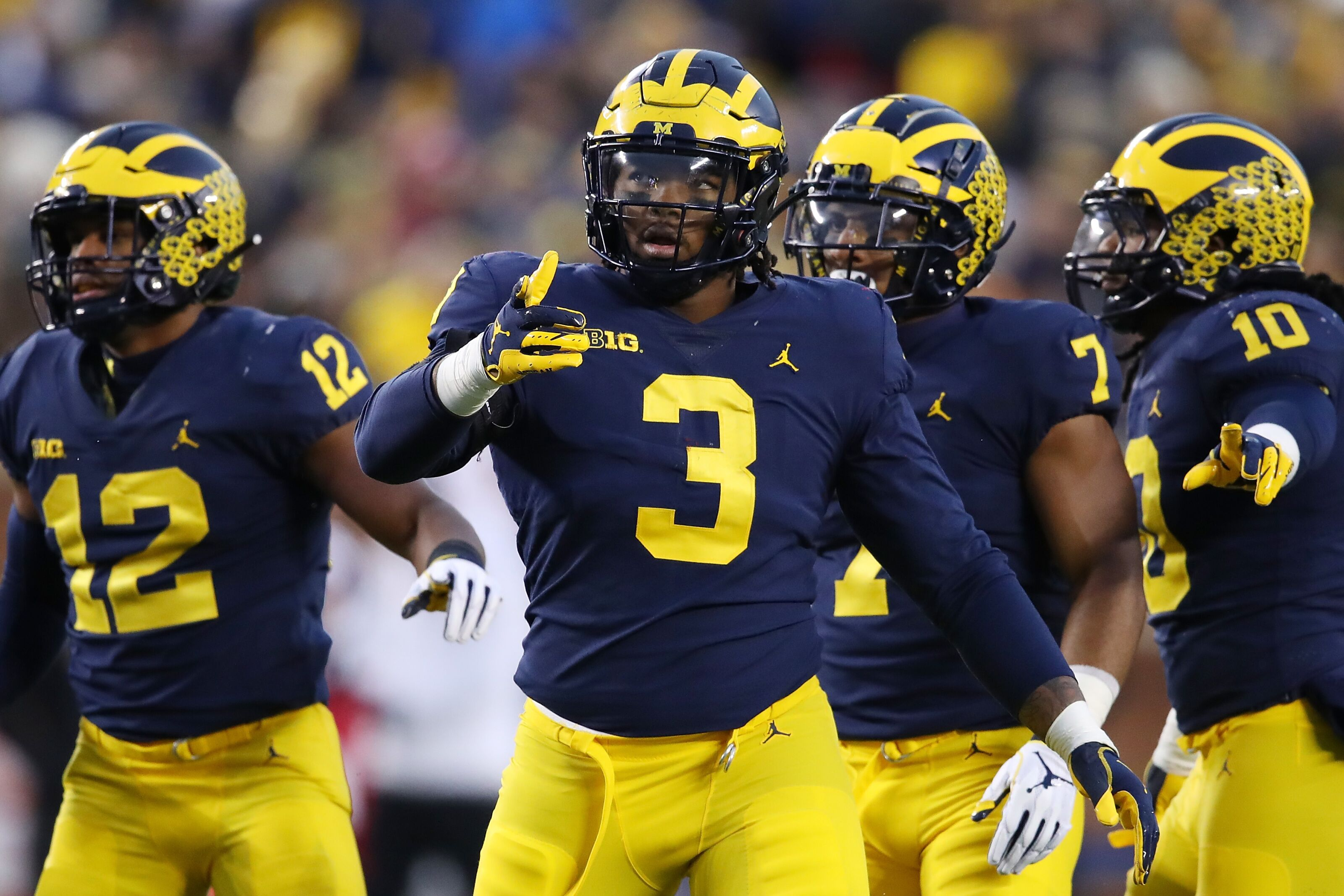 Michigan's Rashan Gary has labrum tear according to report