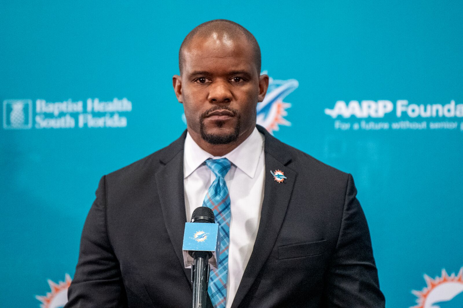Brian Flores wants you to know nothing about what they are doing