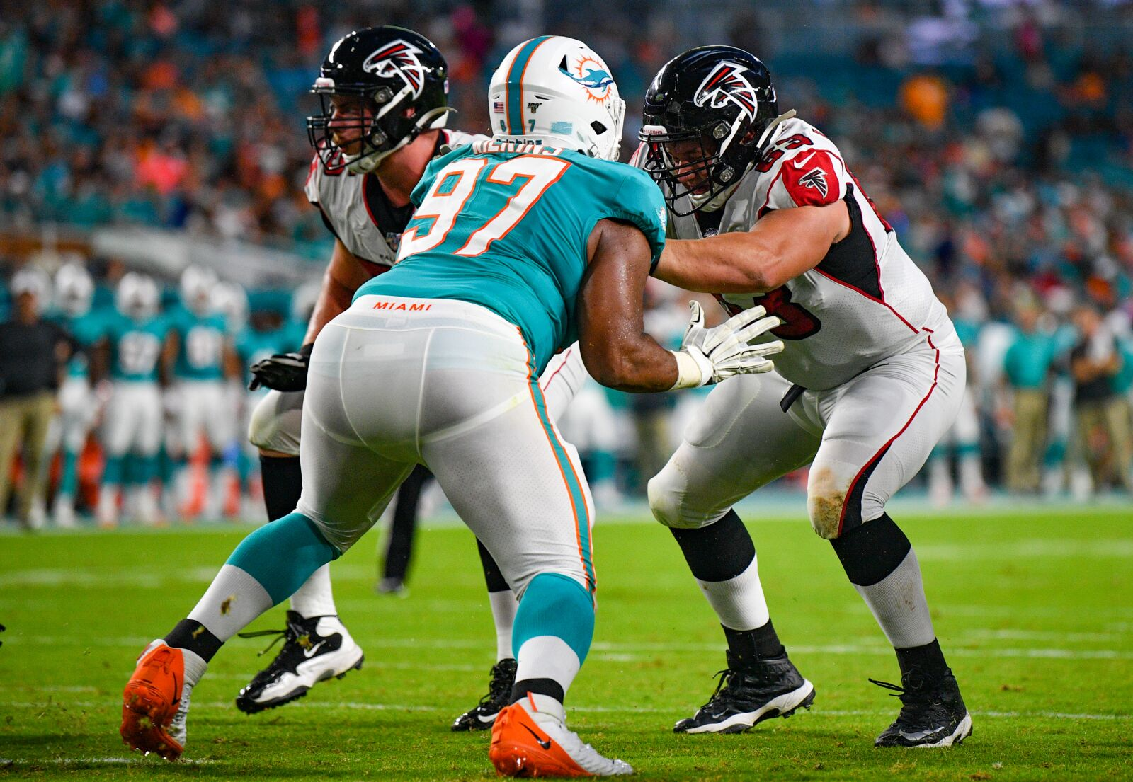 Christian Wilkins is having fun while making and impact for Miami Dolphins