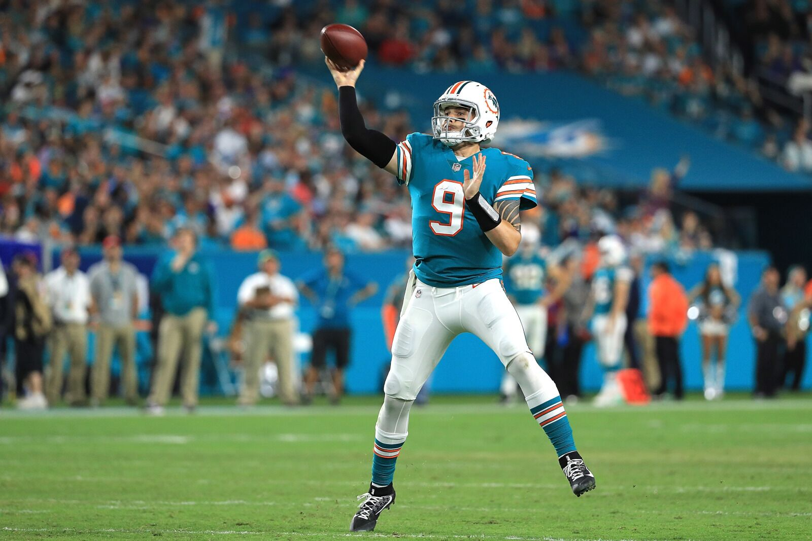 3fba24721 When does head coach Adam Gase give up Brock Osweiler