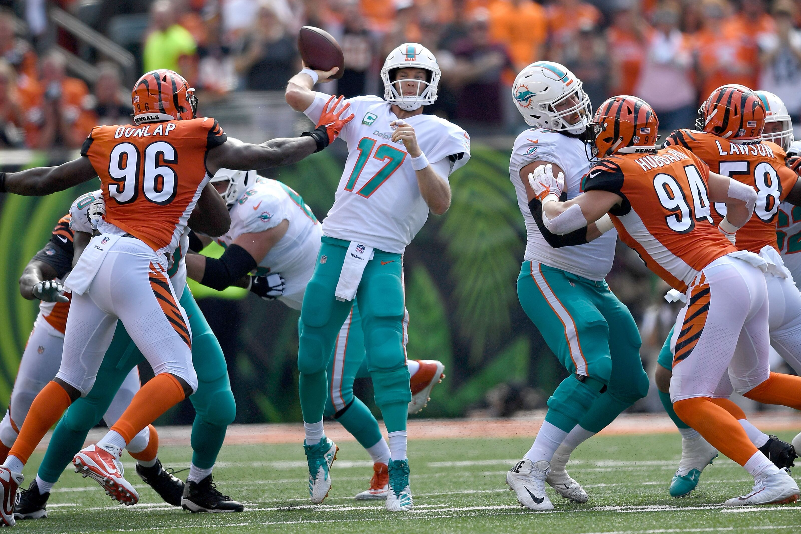 372acd58 Miami Dolphins Ryan Tannehill could see a landing spot with Bengals