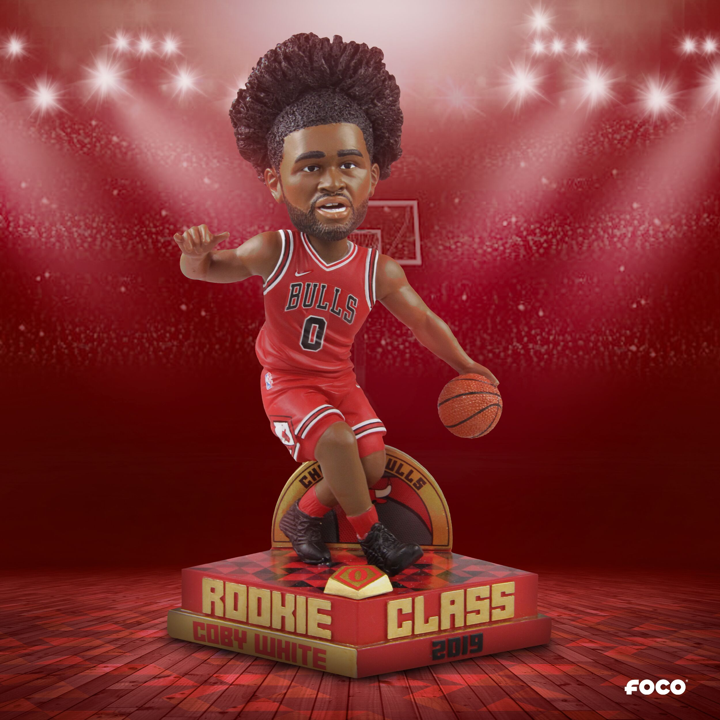 Chicago Bulls fans need this Coby White bobblehead