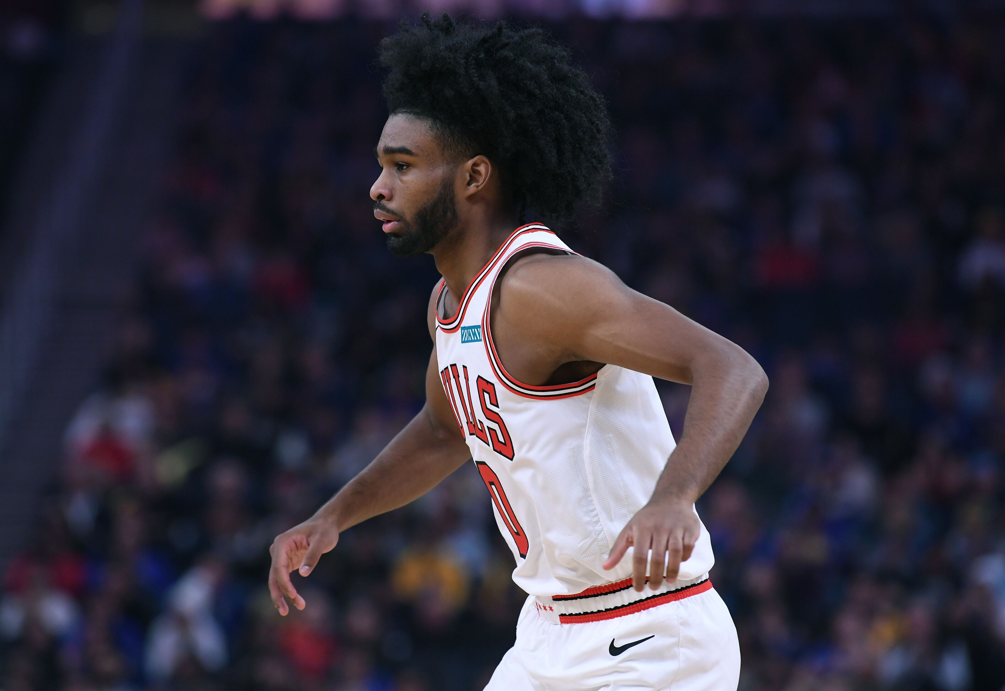 Chicago Bulls Coby White On Record Setting Pace During