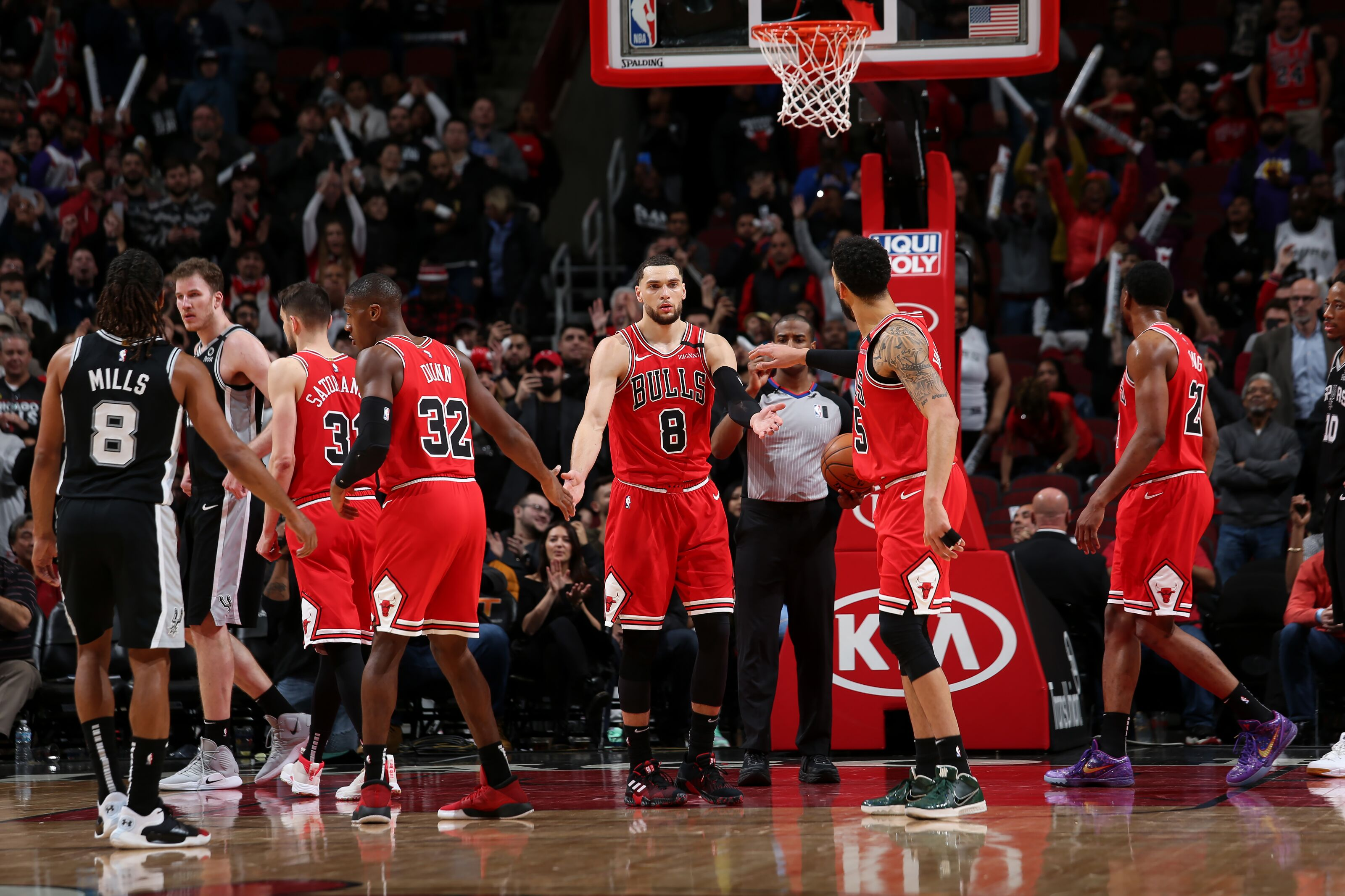 Chicago Bulls: 3 things to love from the nice win over the Spurs