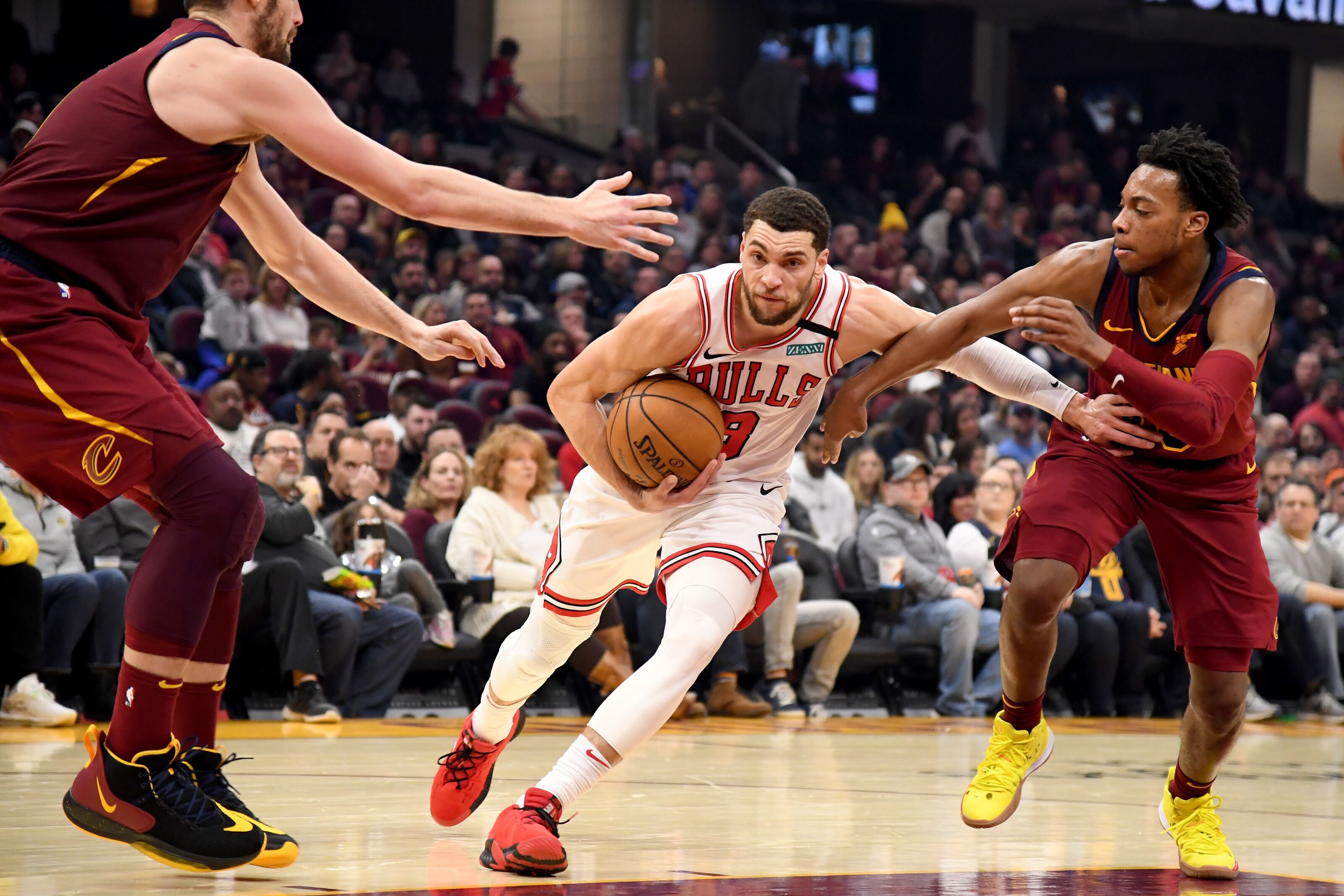 Chicago Bulls: Zach LaVine has an opportunity to make a statement