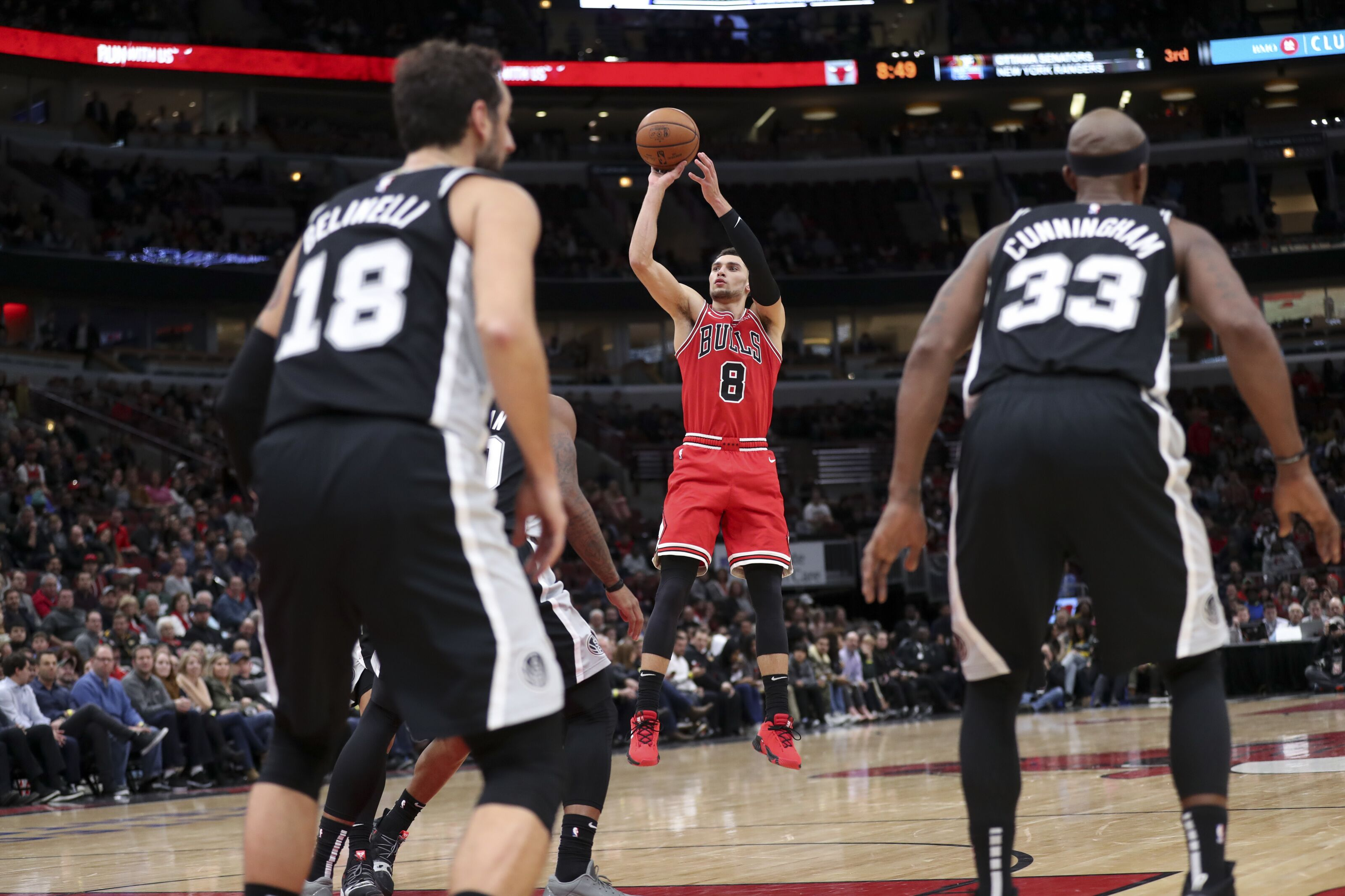 2de03d3f948 Chicago Bulls  1 like dislike from losing a shootout with the Spurs