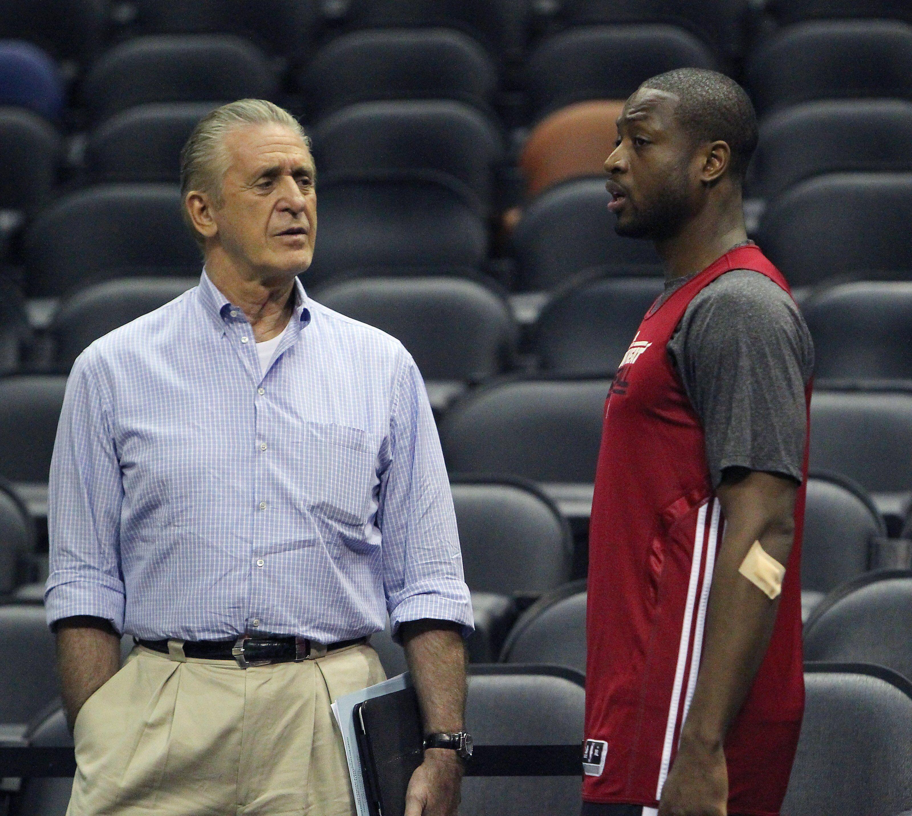 "e9cb879ba Chicago Bulls  Pat Riley ""regrets"" letting Dwyane Wade leave Miami Heat"