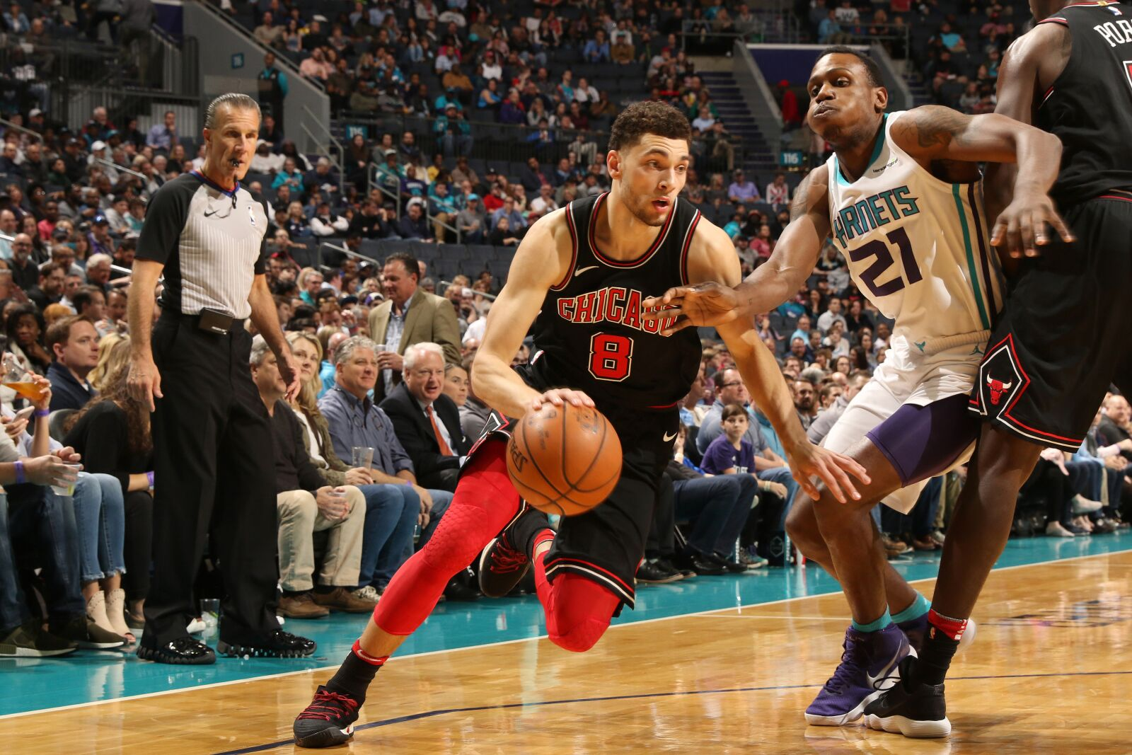 83b6ac698829 Chicago Bulls  Zach LaVine could be special in the pick   roll