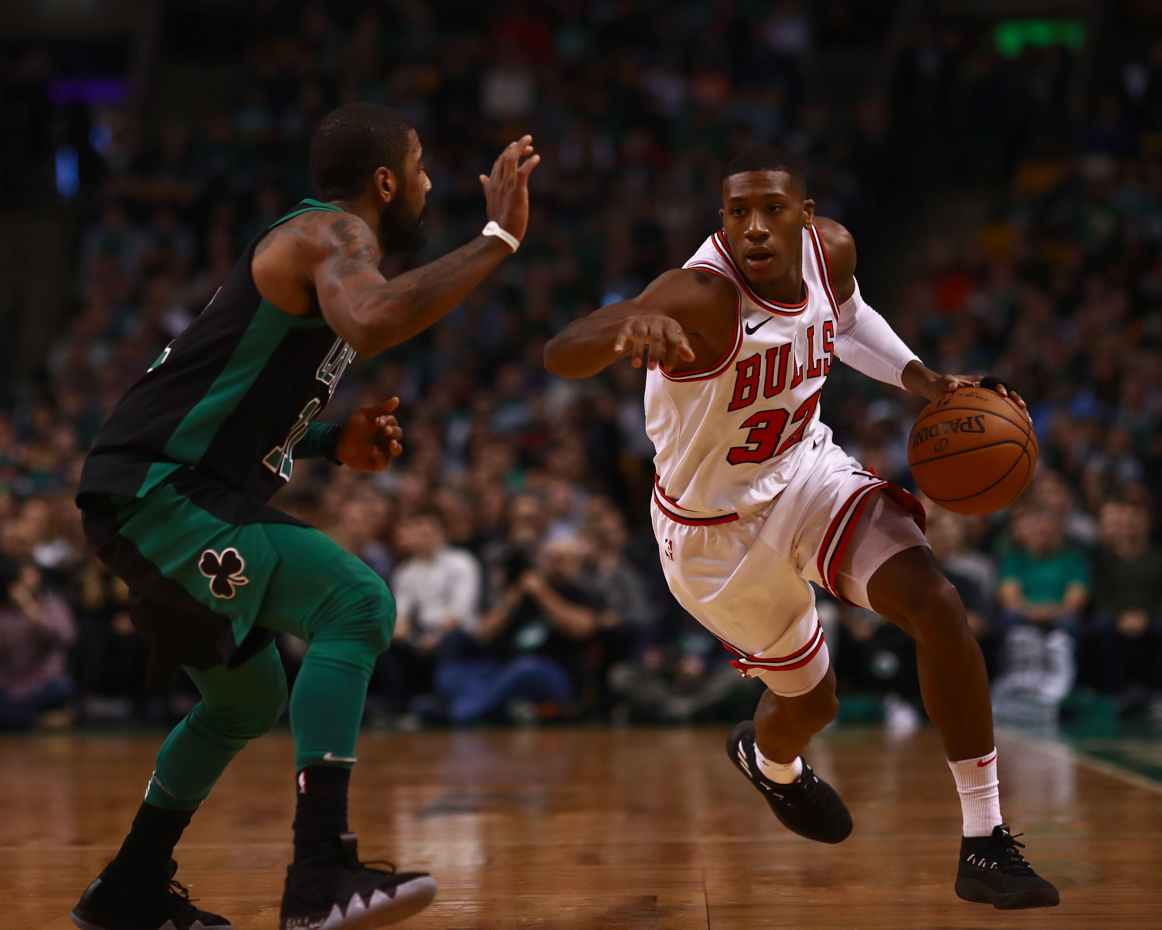 d3bc1e2ce23b Chicago Bulls  Kris Dunn stars against Kyrie Irving