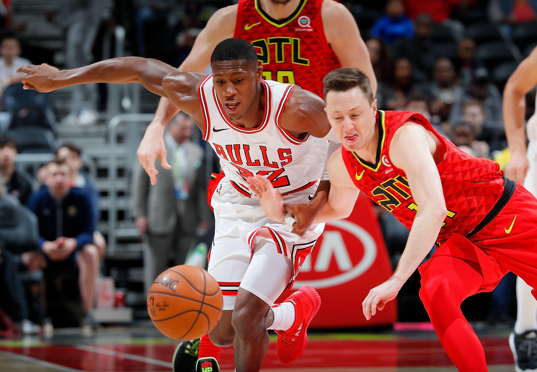 closer at 2cb44 12790 chicago bulls kris dunn didnt receive a single all defensive - Chicago Bulls Christmas Jersey