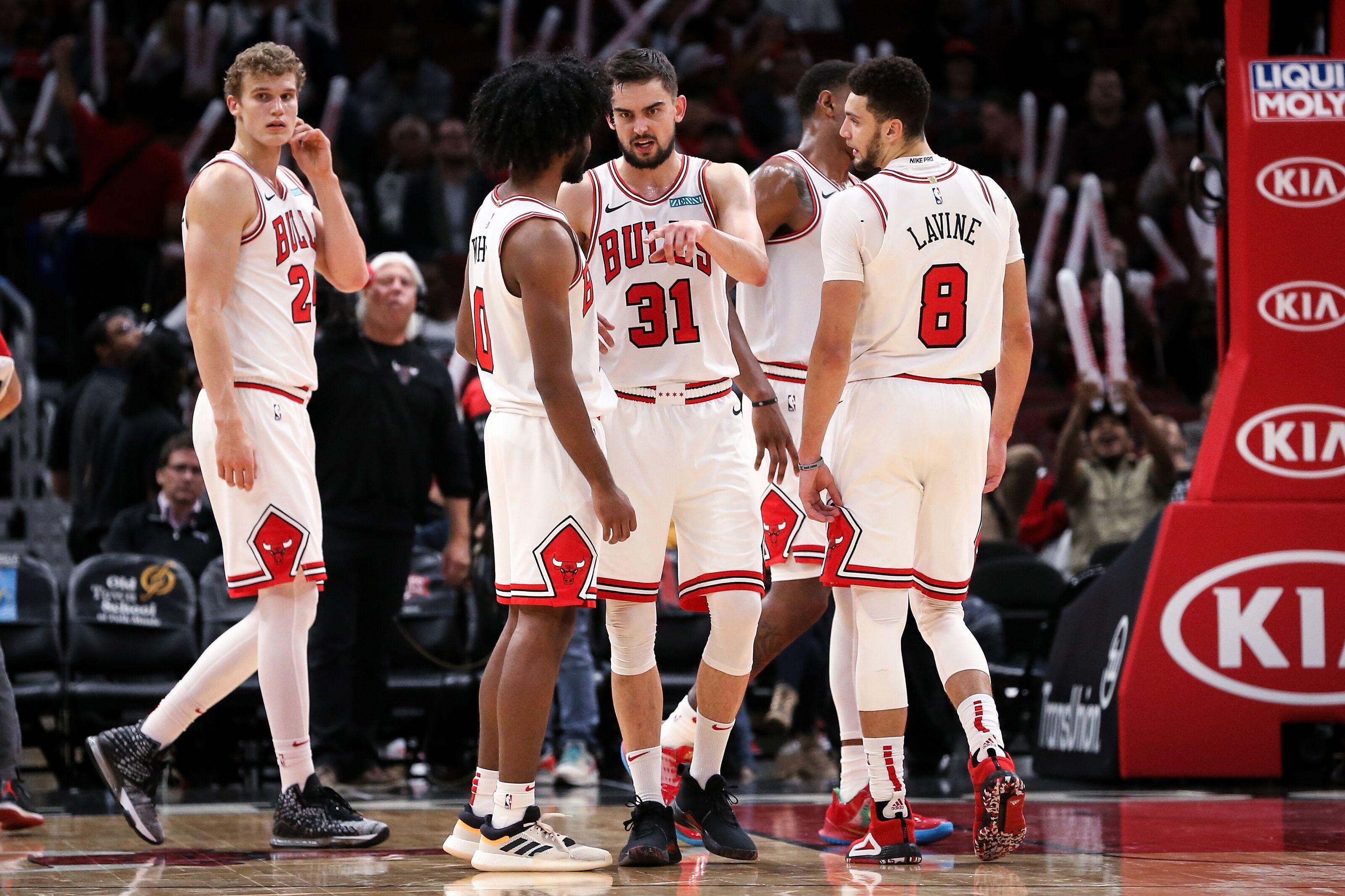 Numbers That Support the Chicago Bulls Thinking Playoffs