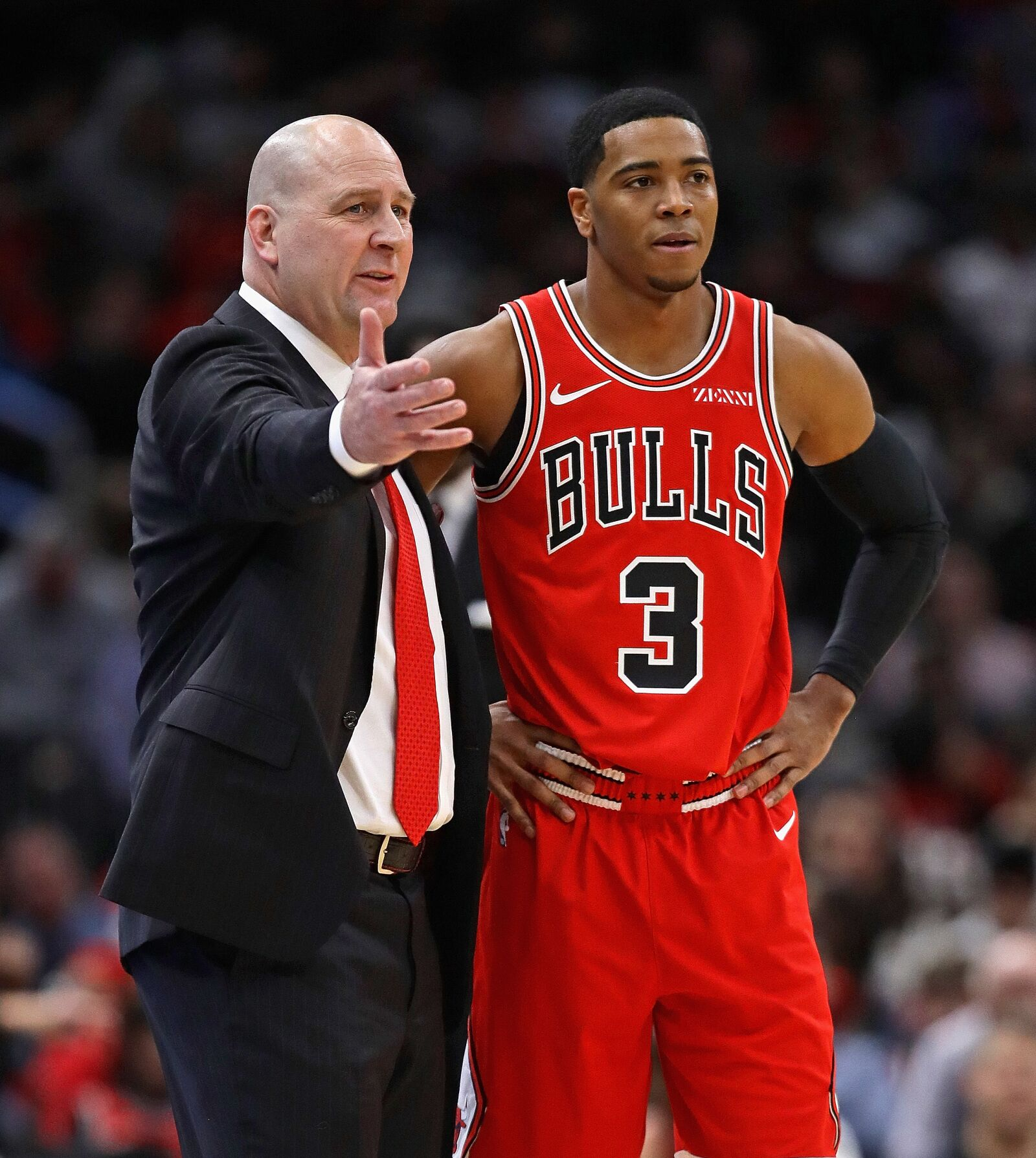 new product 4a13b 5c2d9 Chicago Bulls: Shaquille Harrison performs well in lopsided loss