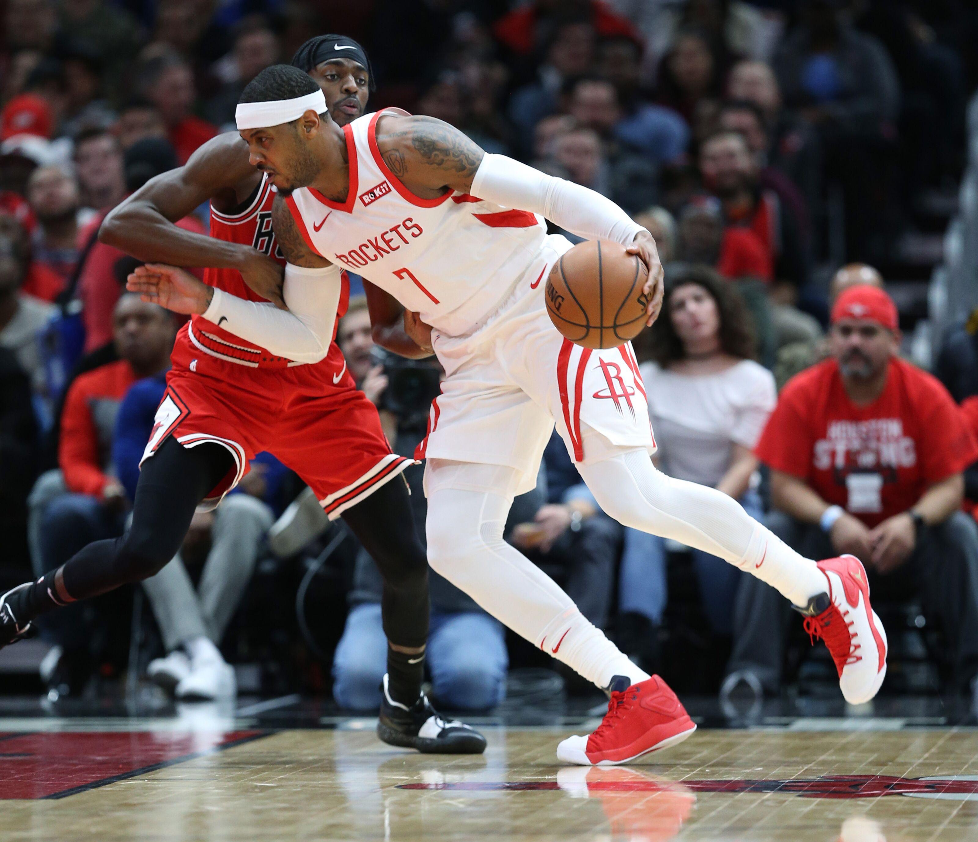 aed49b27ba8f Chicago Bulls  Bulls Acquire Carmelo Anthony