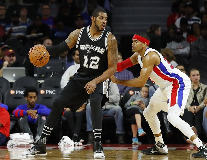 Detroit Pistons: Should the Pistons try to trade for LaMarcus