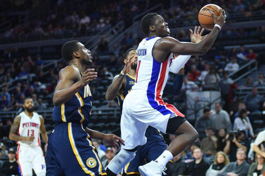 07ce89c08c28 Detroit Pistons  Reggie Jackson has hit his mid-season stride