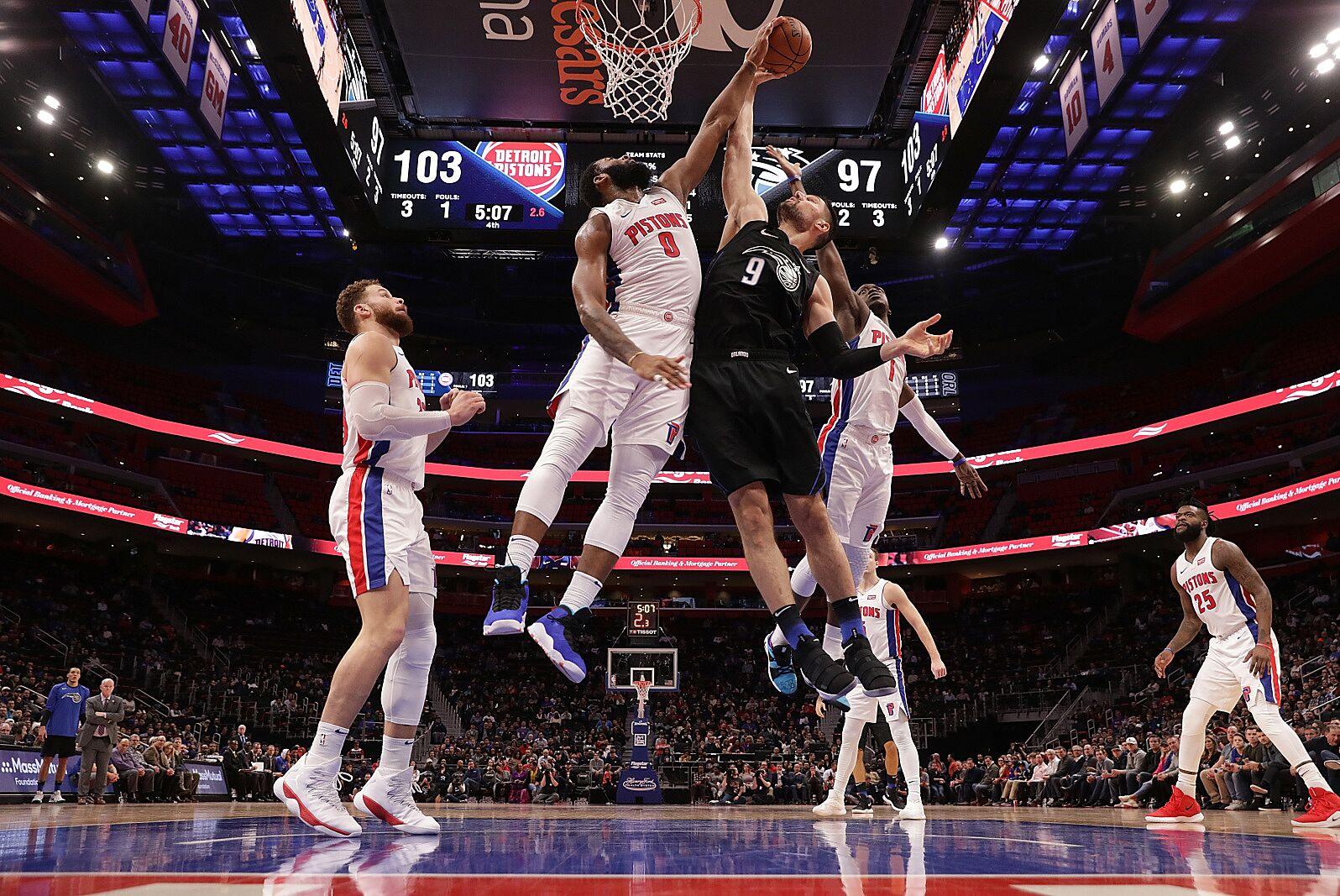 Detroit Pistons vs. Orlando Magic 2019-20 season preview