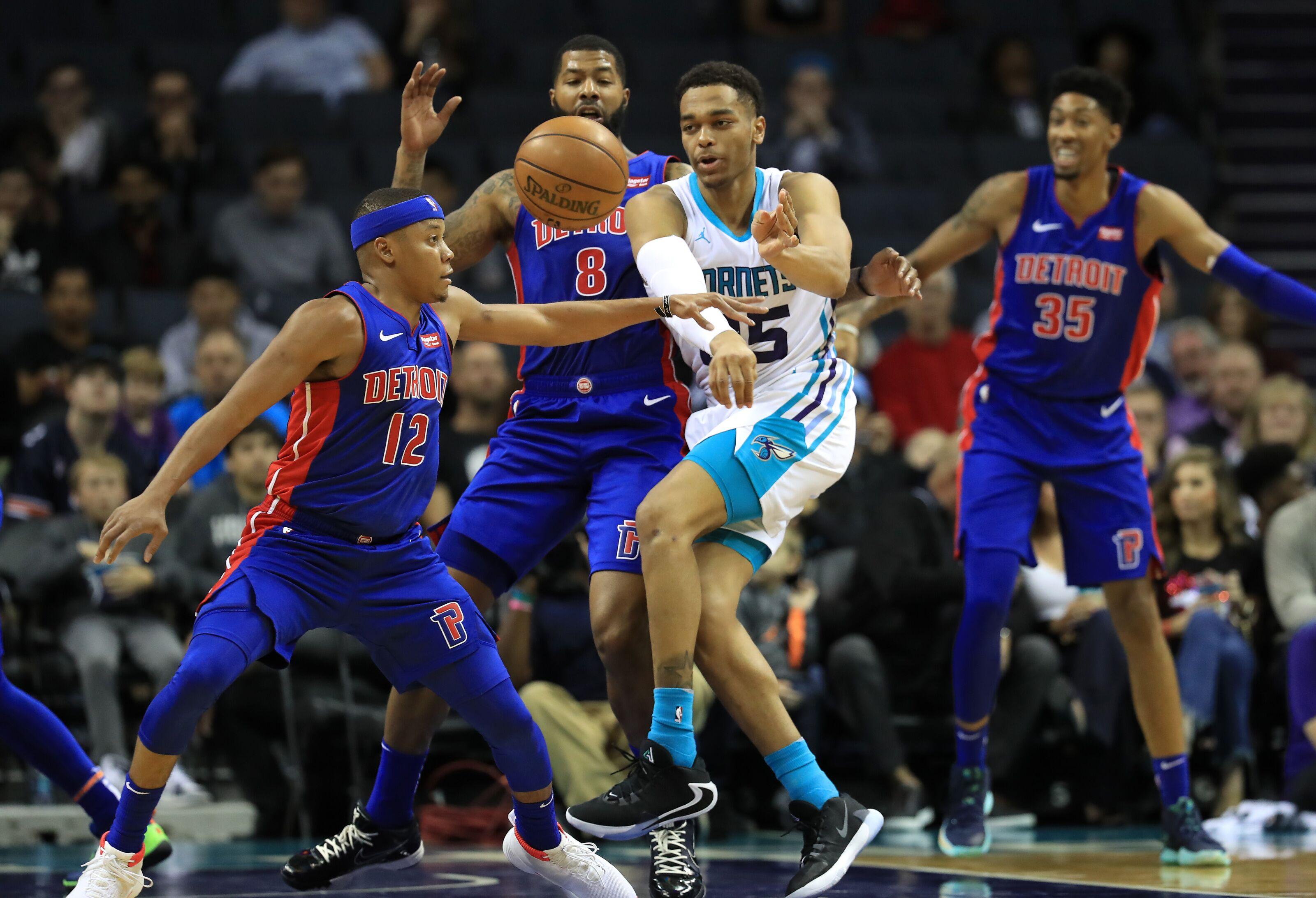 Rapid reaction: Detroit Pistons 116 Charlotte Hornets 110