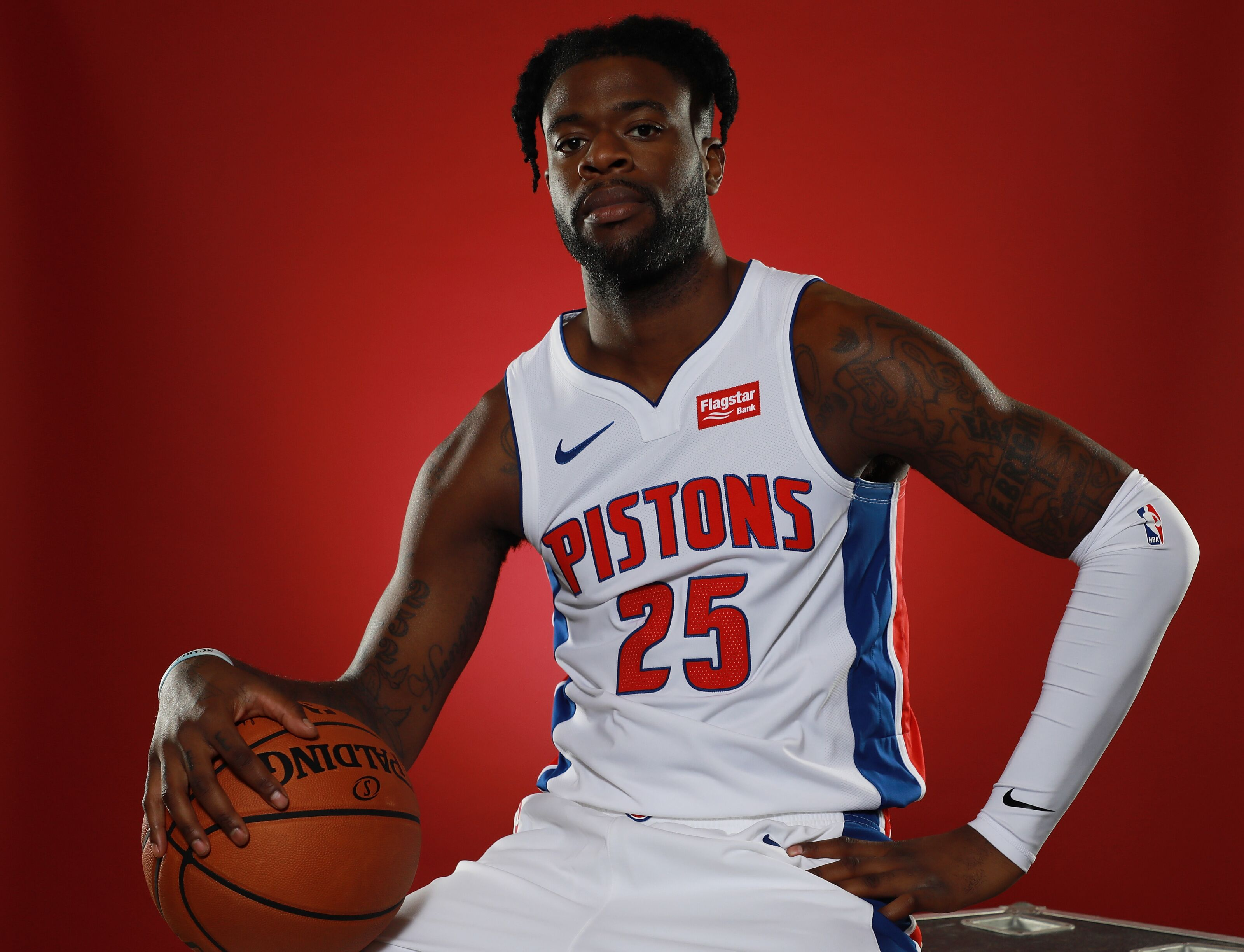 Who should start at shooting guard for the Detroit Pistons?