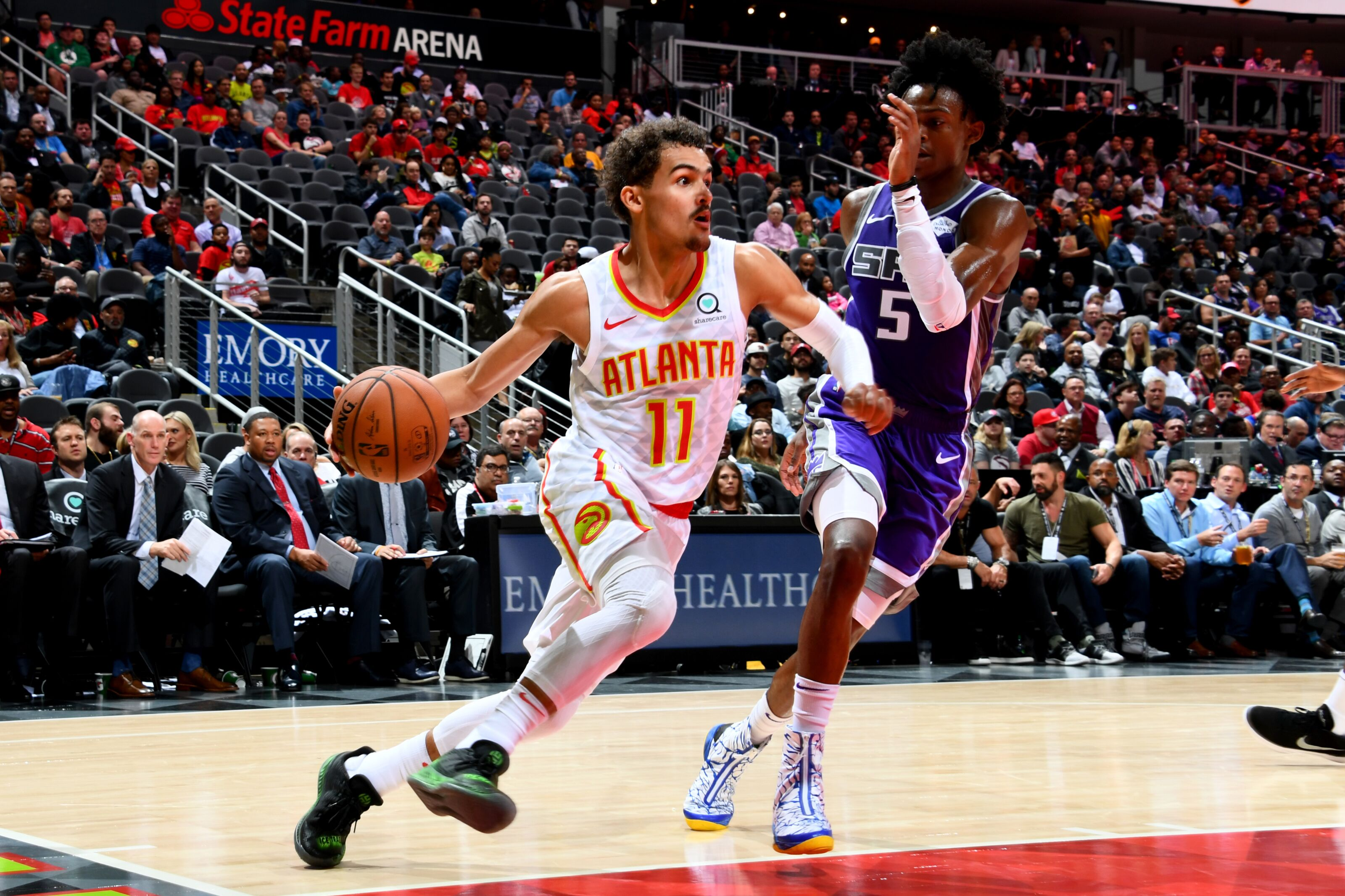 7ff158200 Detroit Pistons  Scouting report for Trae Young