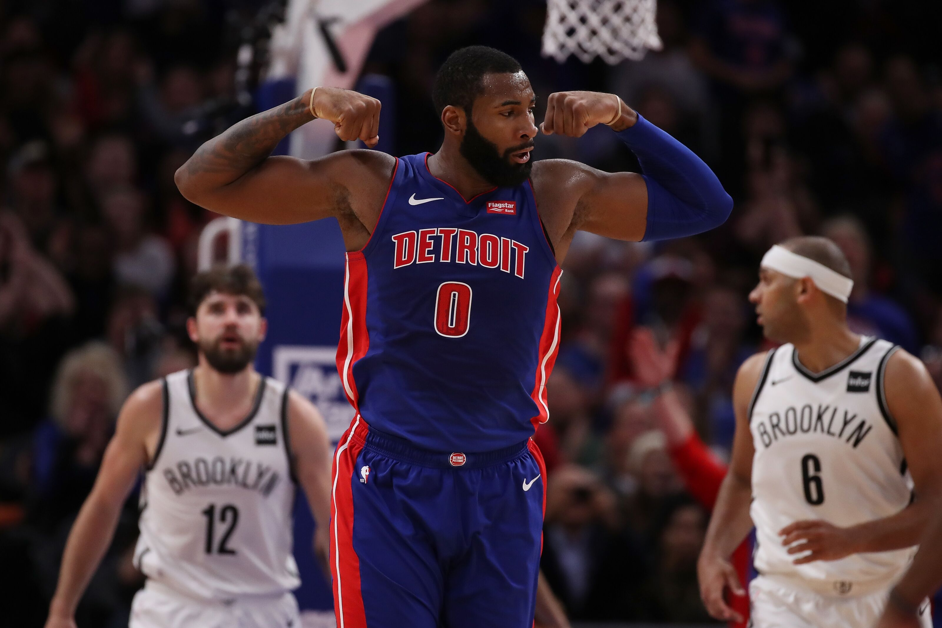 Report: Andre Drummond wants a maximum contract extension from Detroit Pistons