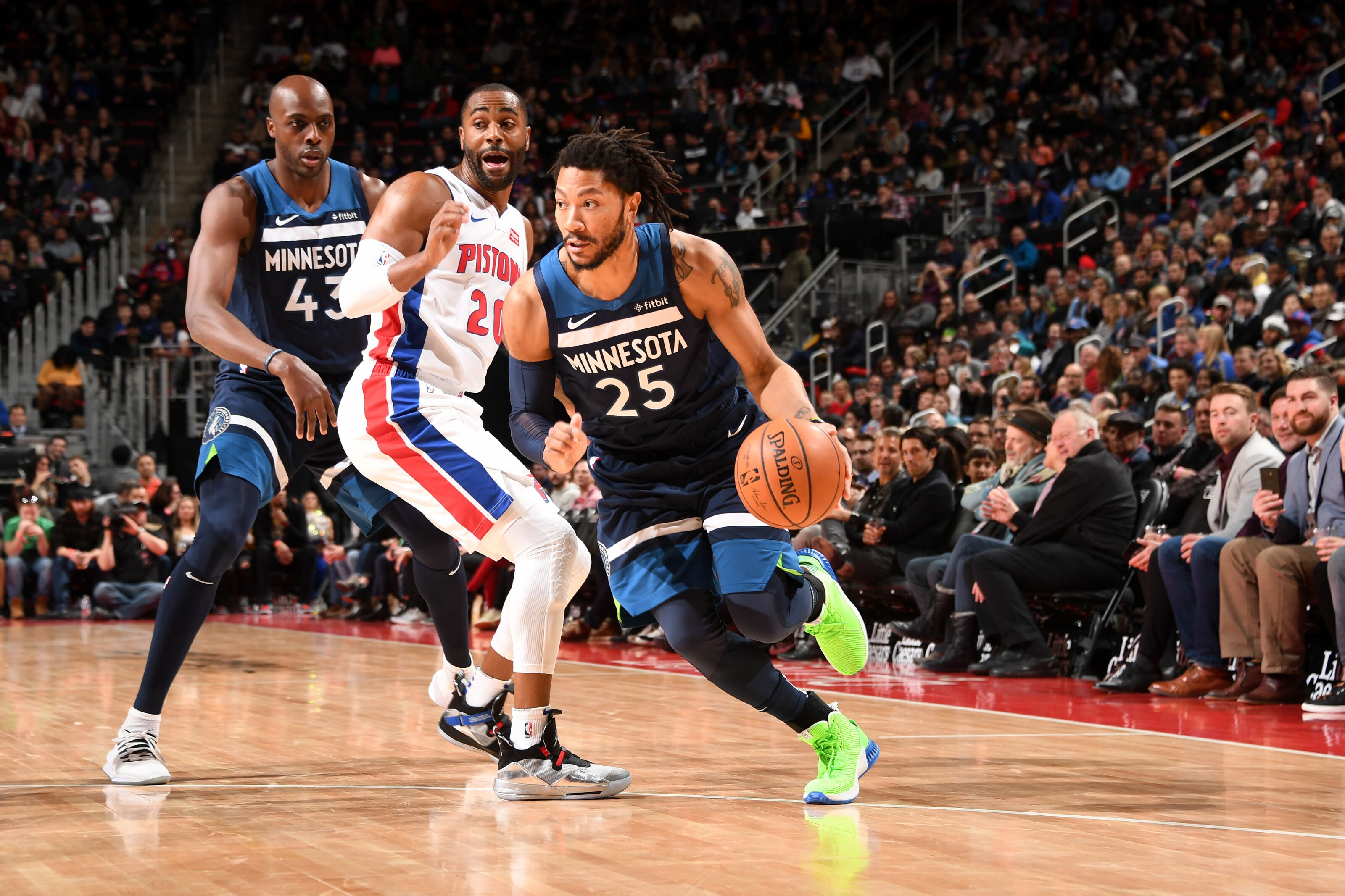 Detroit Pistons 2019-20 preview: Derrick Rose's profile