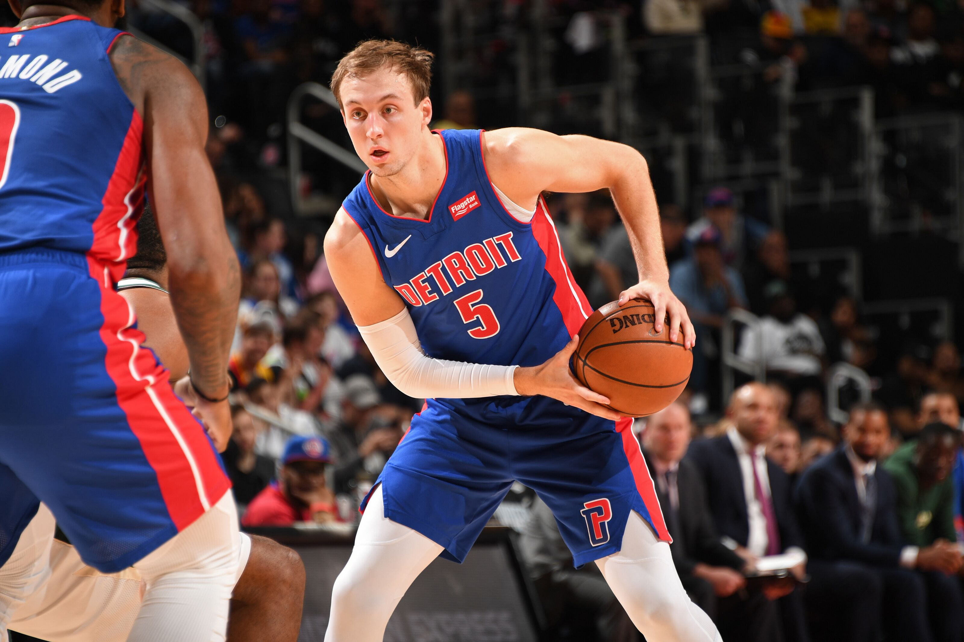 the latest 9d275 e7b6b Should the Detroit Pistons start Luke Kennard next season?