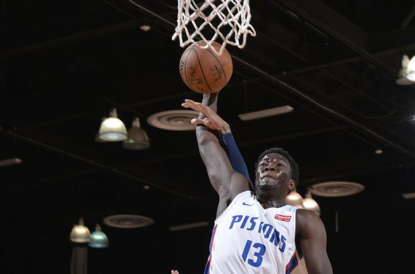 new product f0bcd 80e2a Detroit Pistons rookie Khyri Thomas proving his worth early on