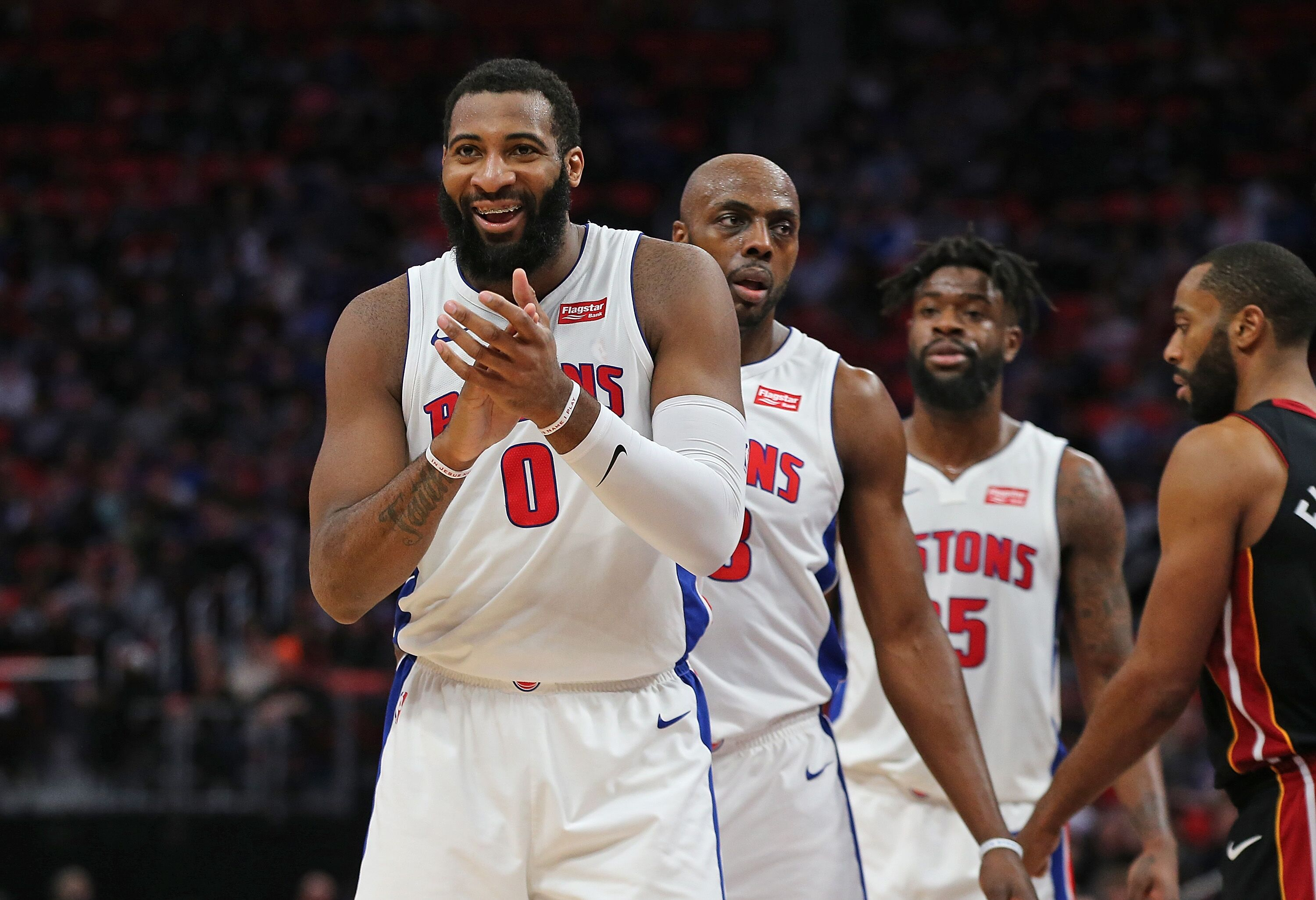 pretty nice 69b67 7a5be Detroit Pistons  Andre Drummond named Eastern Conference Player of the Week