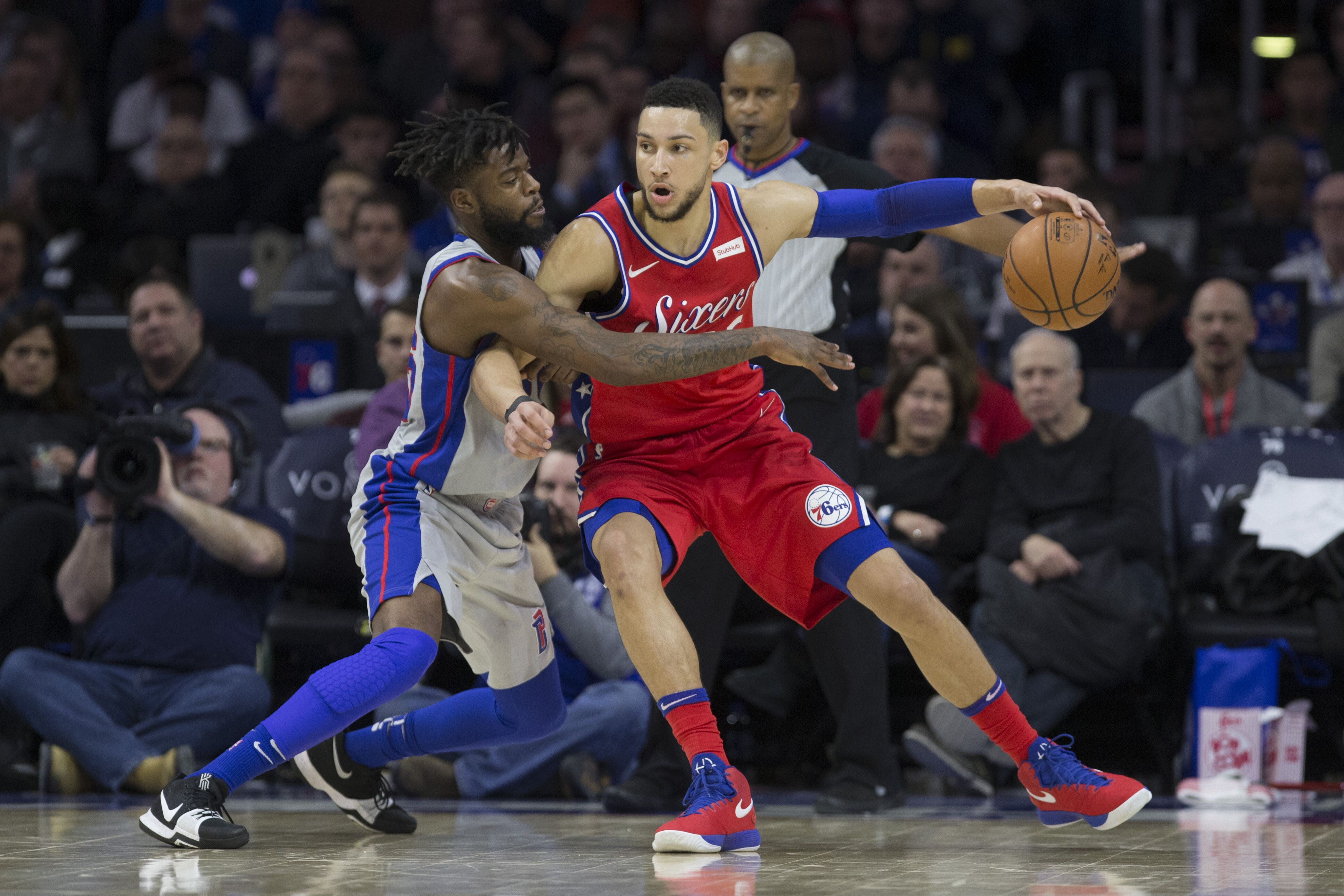 0e7bb1ec2 Game day info  Detroit Pistons look to stop free fall against Sixers
