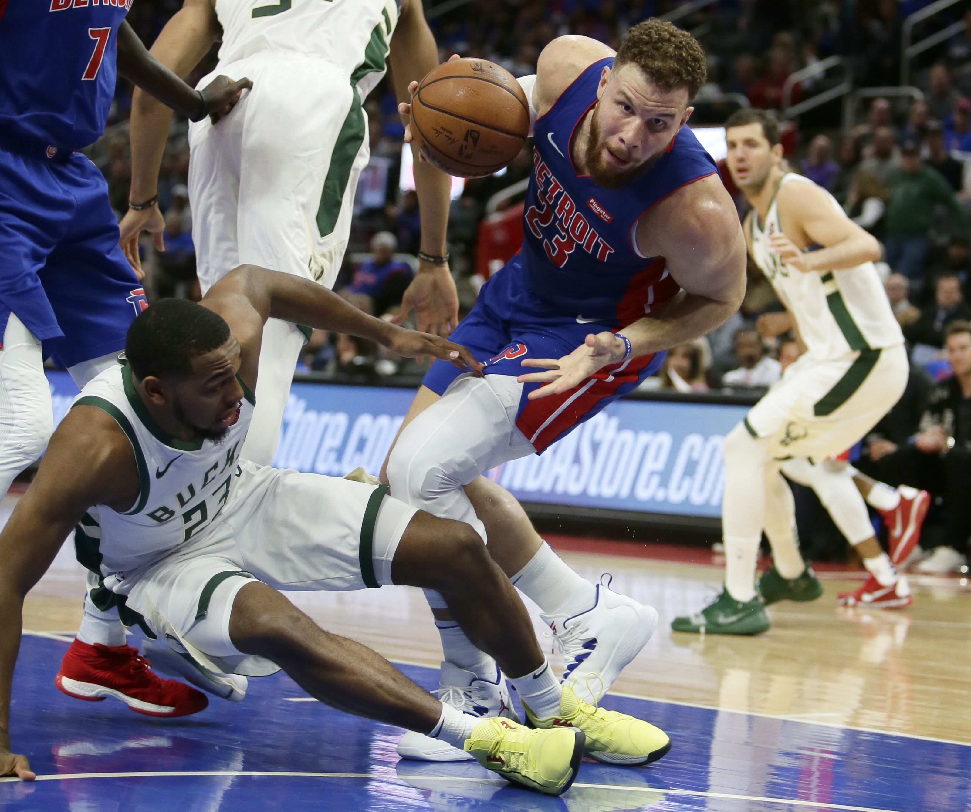 How bad are the Detroit Pistons without Blake Griffin?
