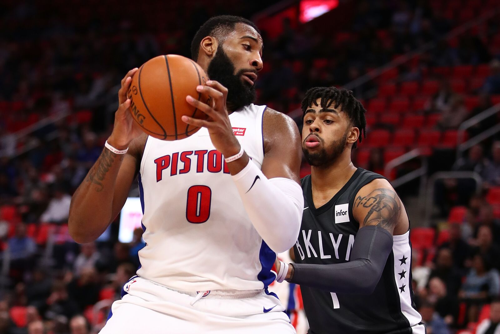 Detroit Pistons: Evaluating potential Andre Drummond-for-D'Angelo Russell trade