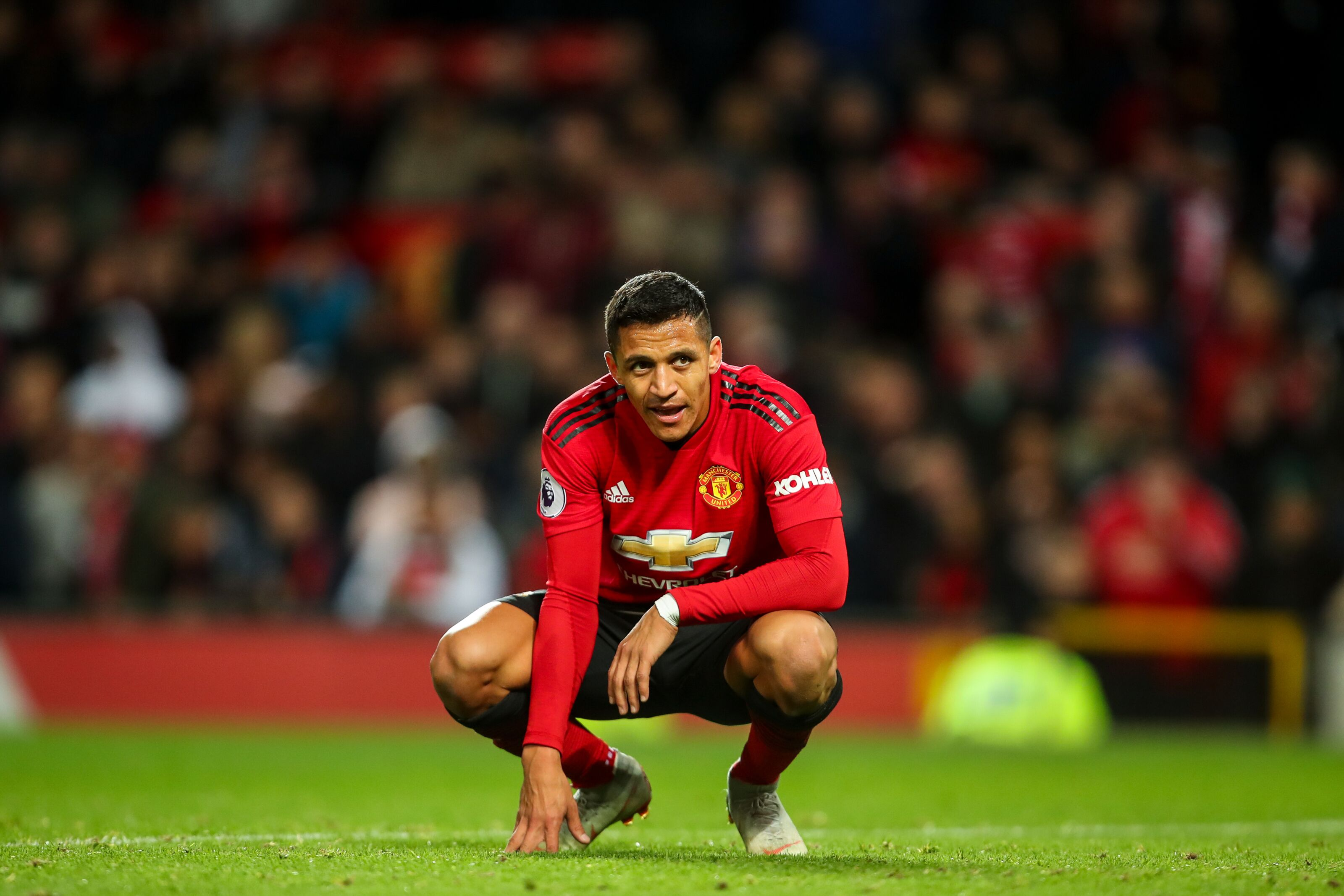 Alexis Sanchez is praying on a miracle at Manchester United