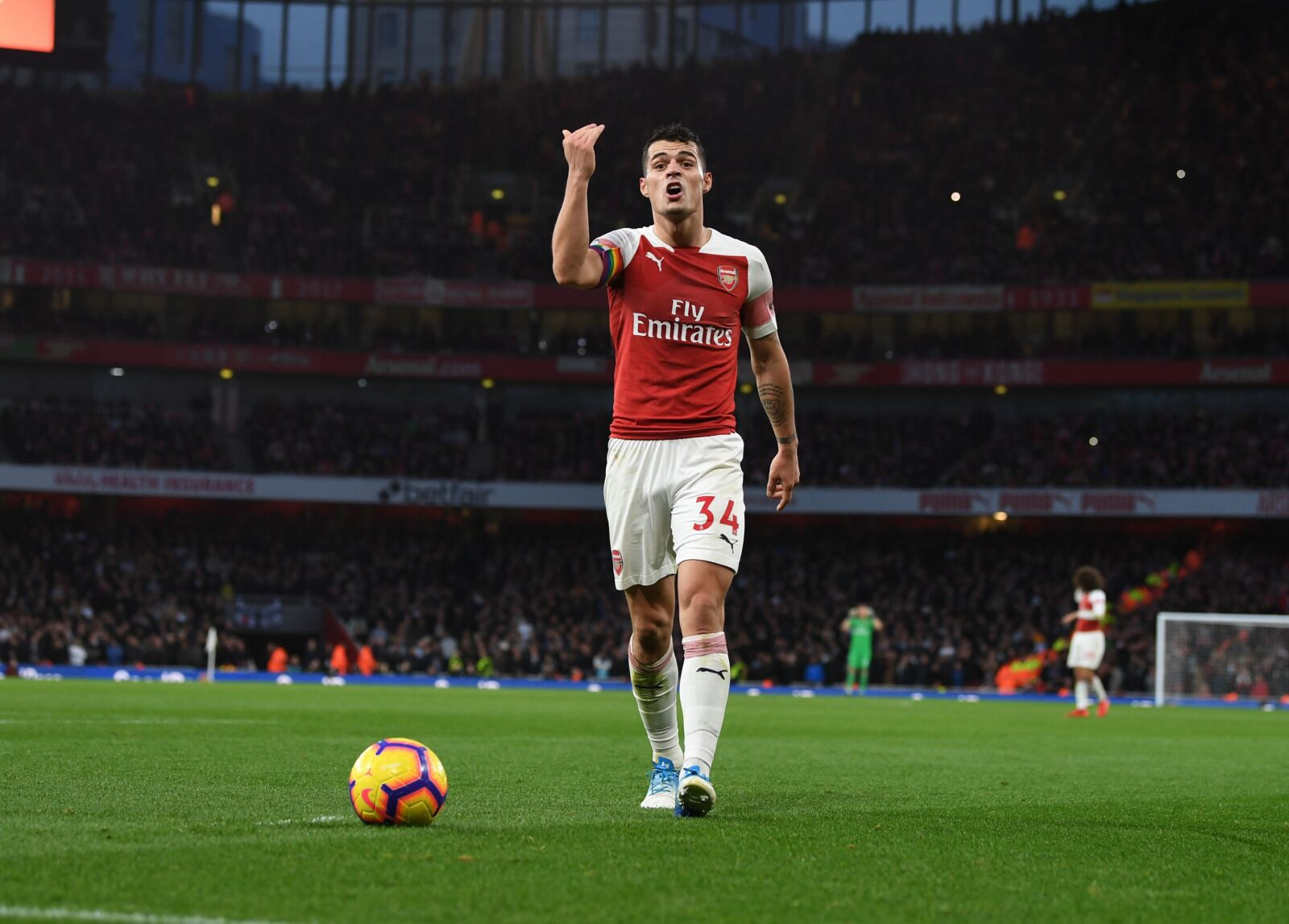 Arsenal: Is Granit Xhaka starting to win back the fans?