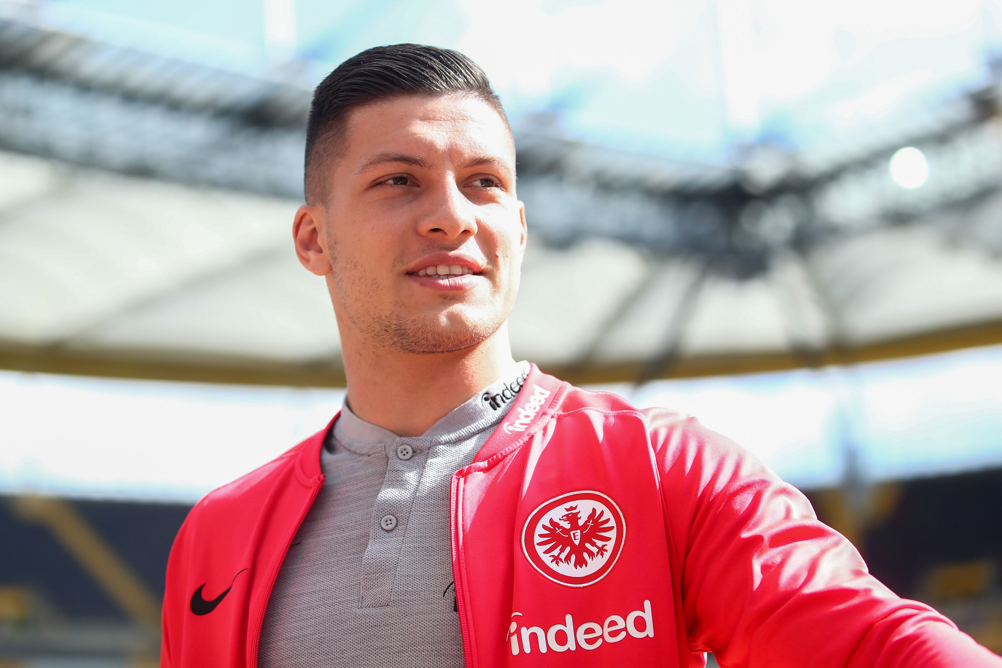 Real Madrid complete a move for in form striker Luka Jovic