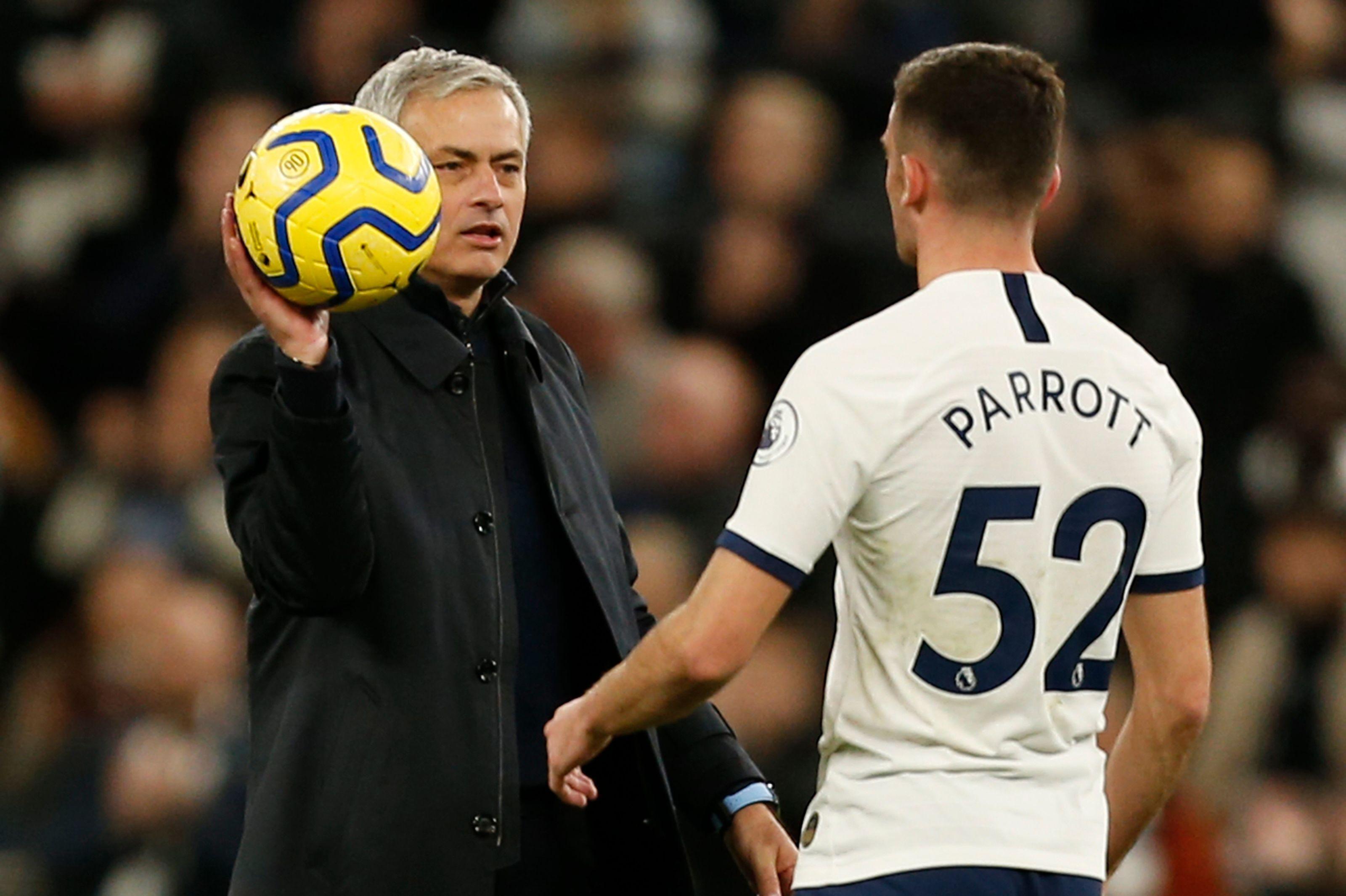 Jose Mourinho's brilliant treatment of Troy Parrott will pay off for Tottenham