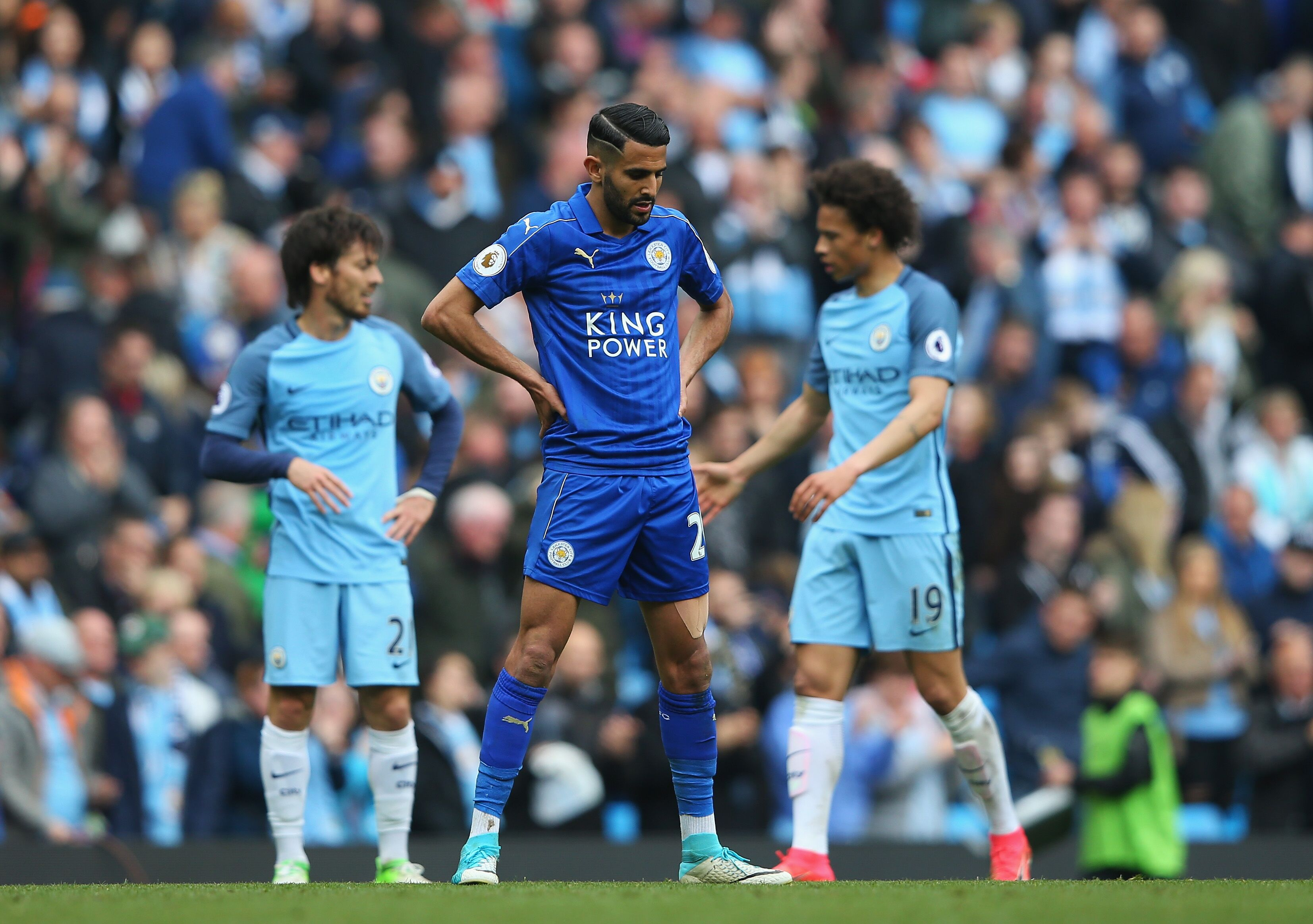 Tottenham s interest in Riyad Mahrez isn t genuine