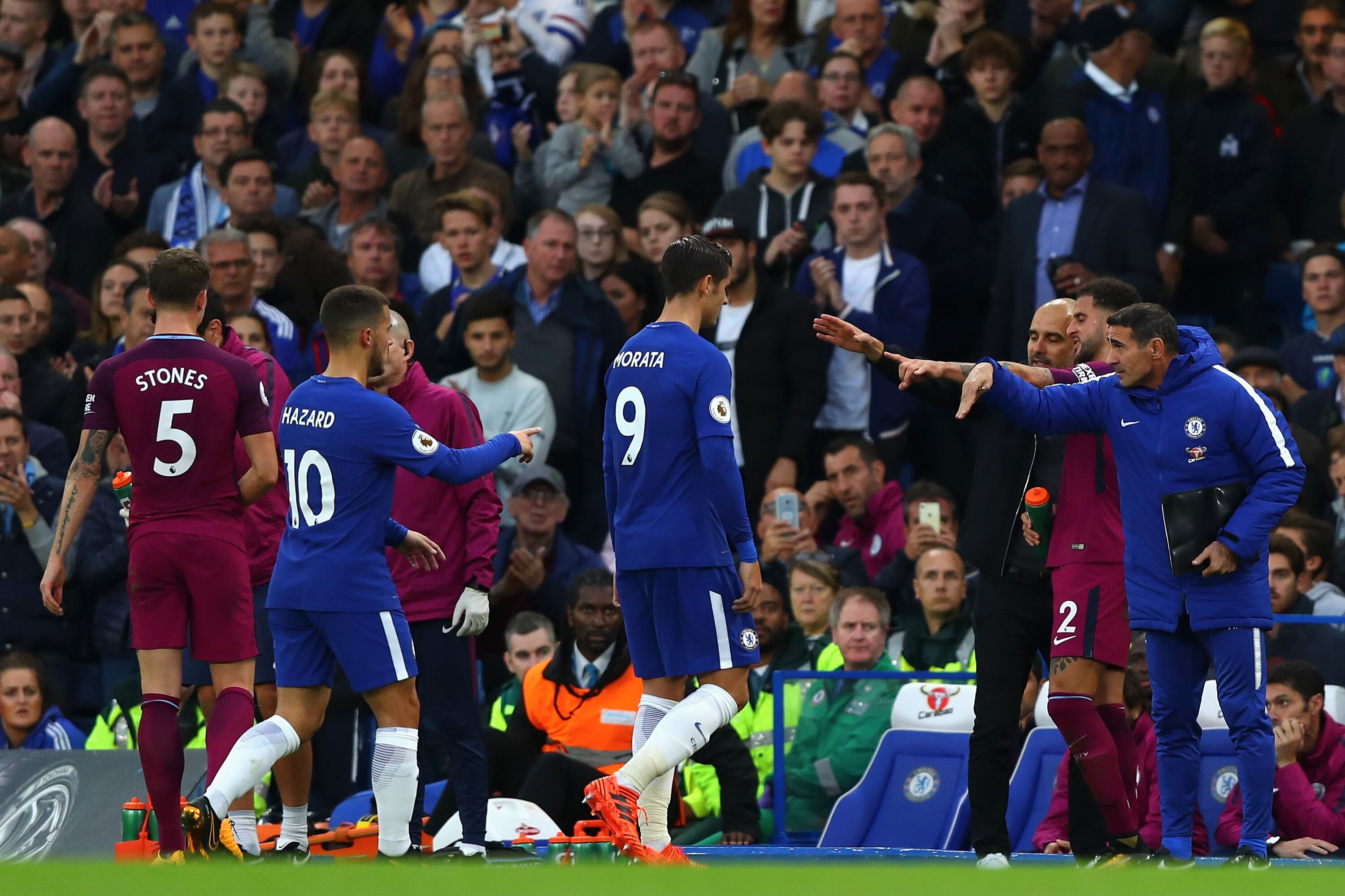 Manchester City Fc And Chelsea: Chelsea Tactics: 5 Ways The Blues Will Cope Without Morata