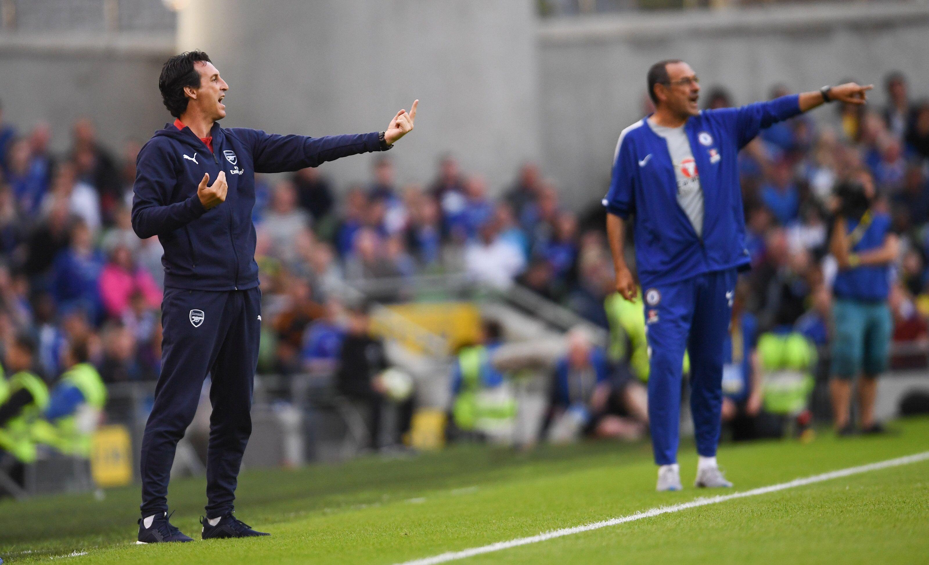Unai Emery vs Maurizio Sarri: Which coach has been more impressive?