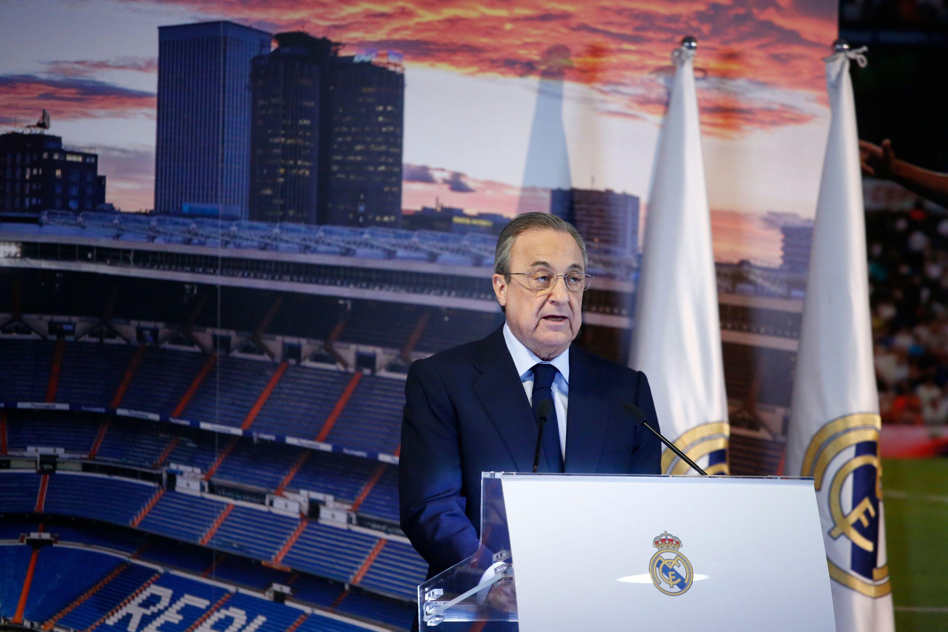 Real Madrid: Florentino Perez denies Zinedine Zidane's requested player signing