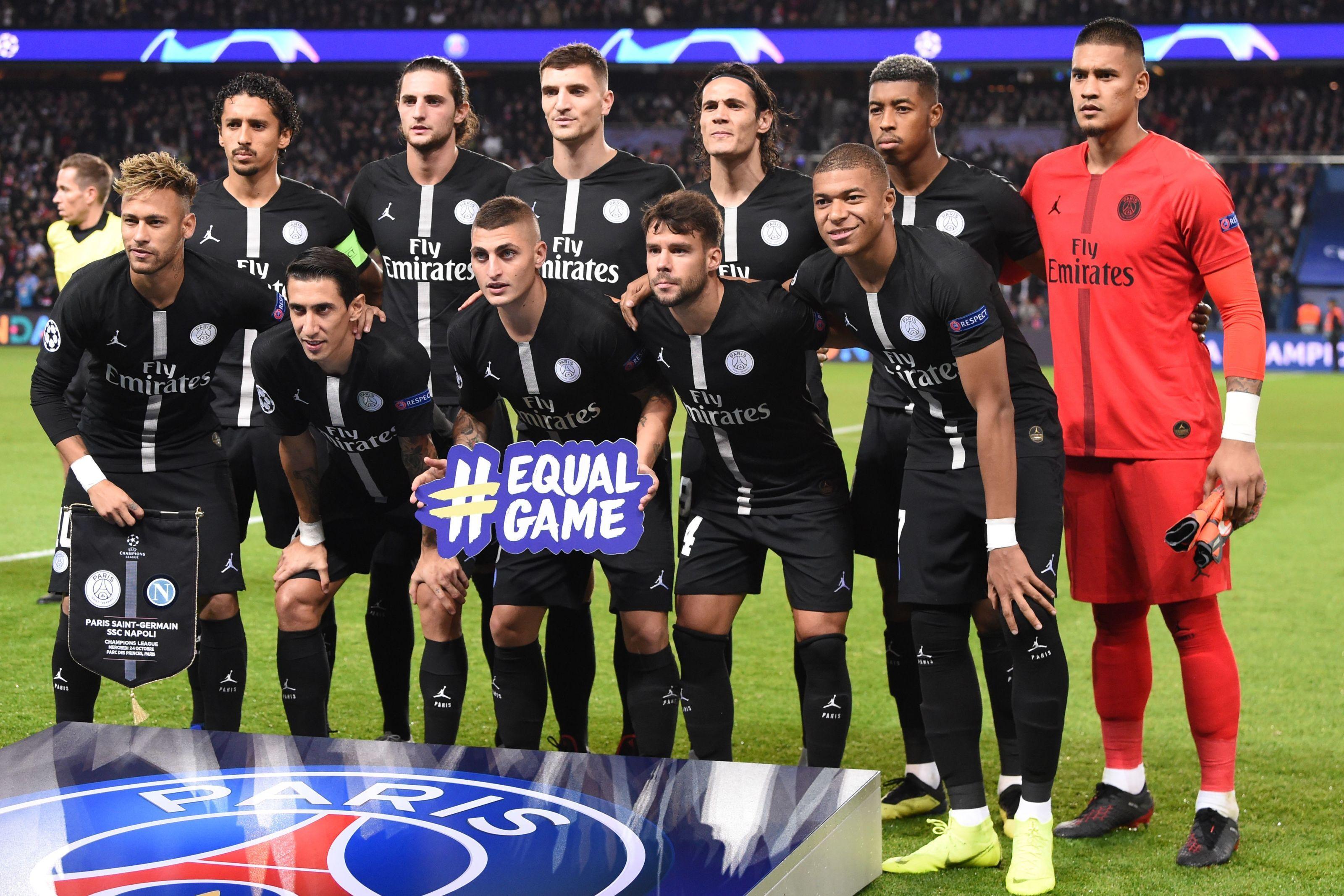 finest selection f1aaa c1ac6 How Paris Saint-Germain should line up for Sunday's Le Classique