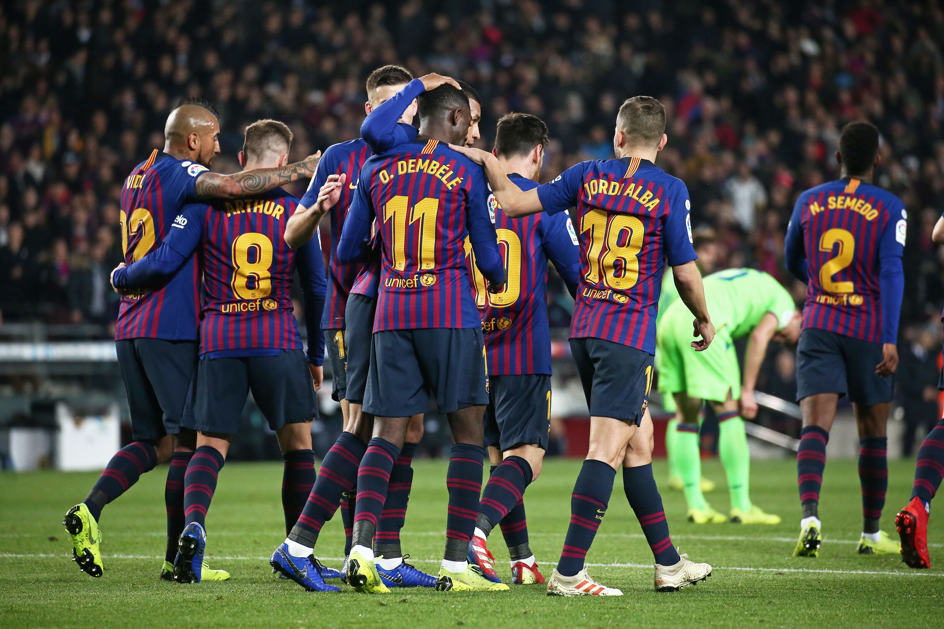 Predicted Barcelona XI vs Leganes: Three more points up for grab