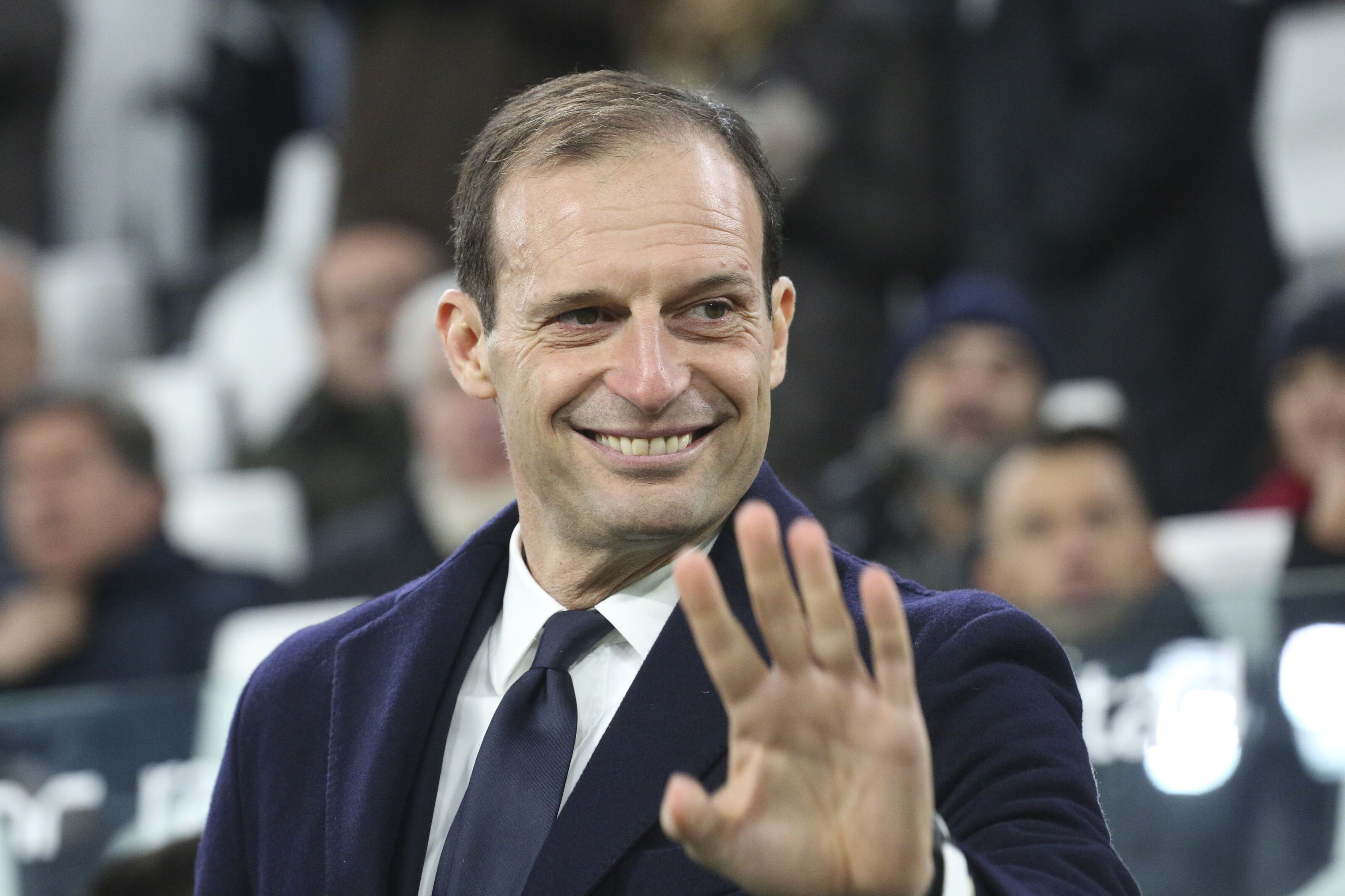 Max Allegri responds to Manchester United job speculation