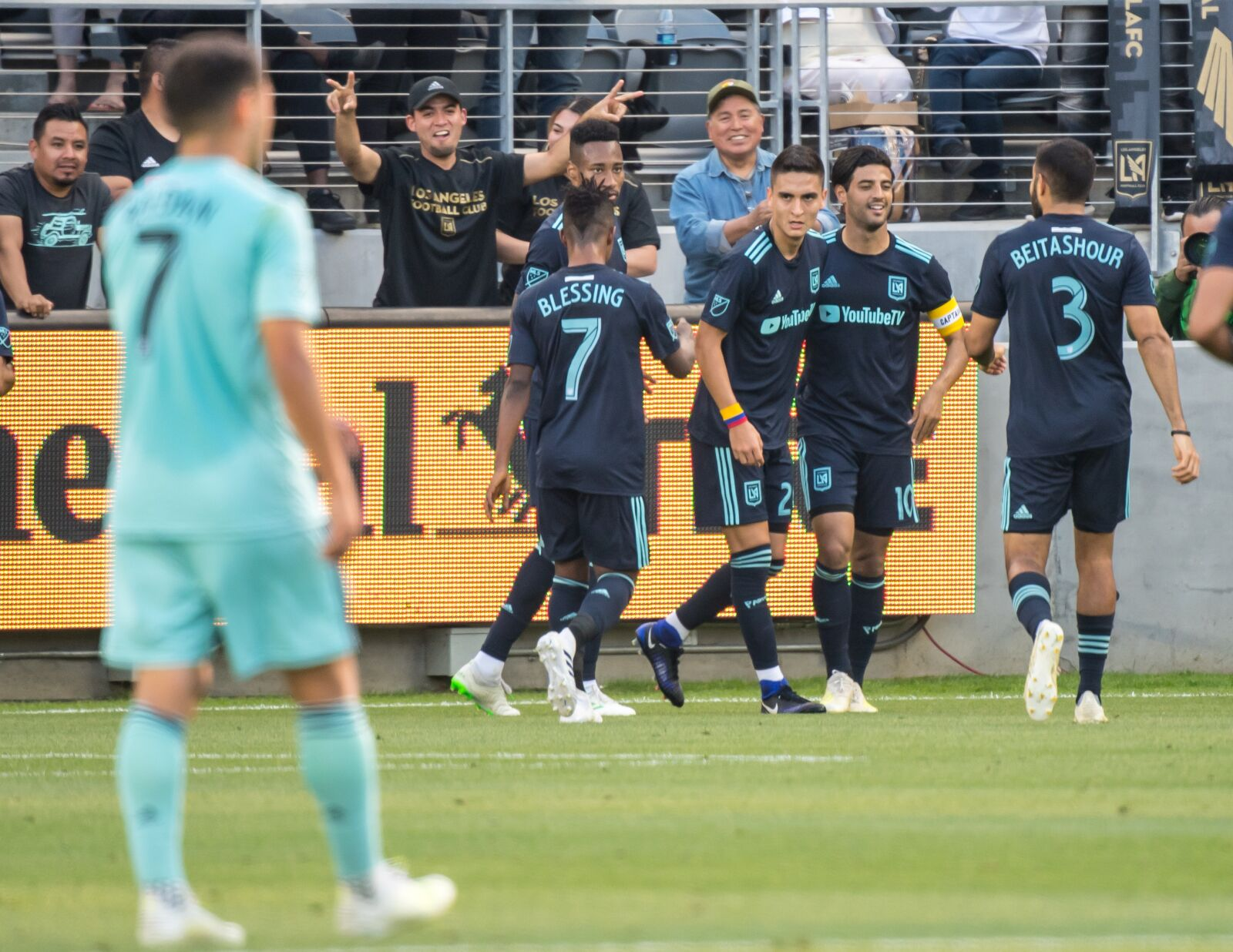 Los Angeles FC assert their dominance in the MLS