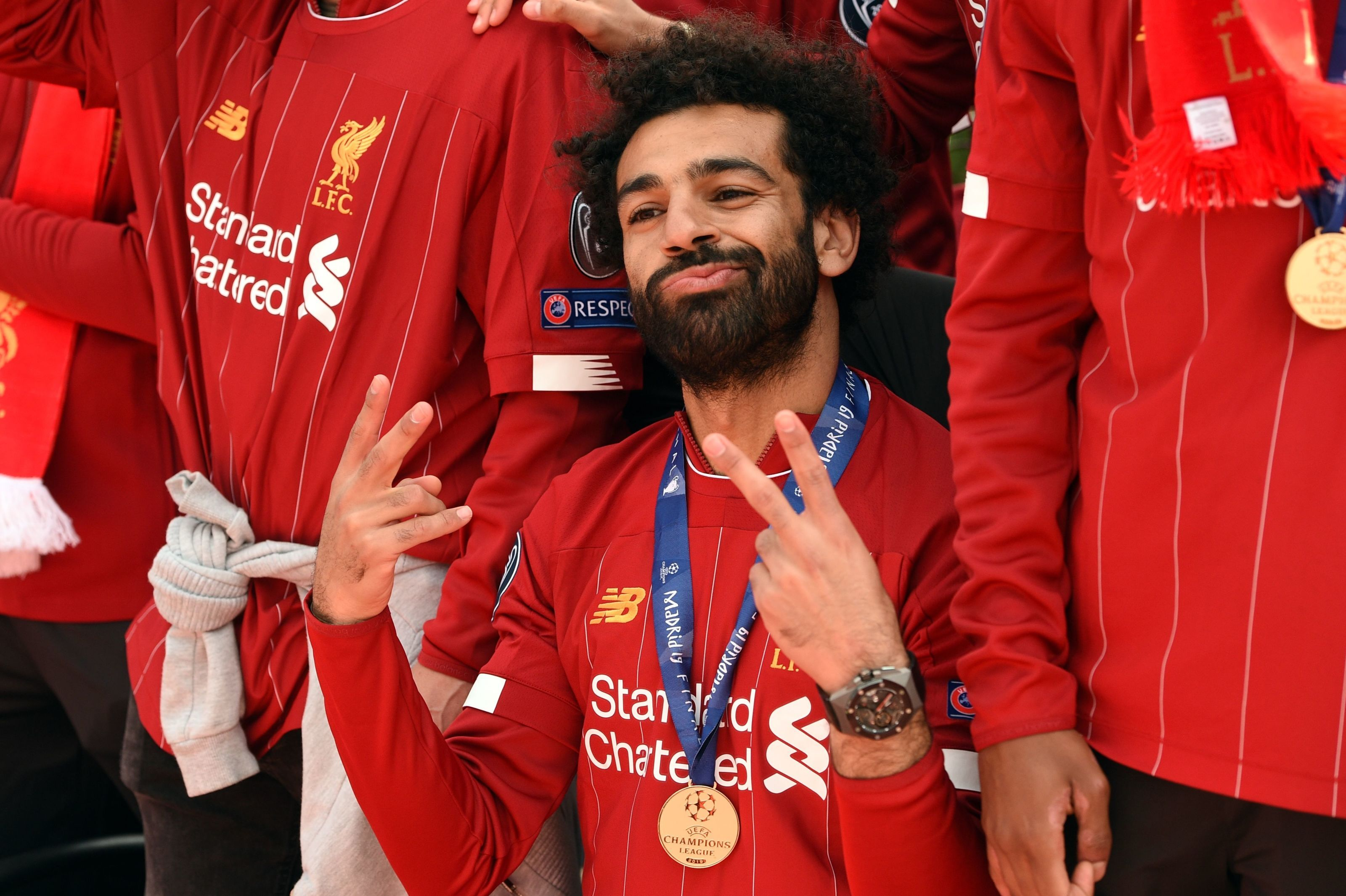 Juventus and Real Madrid turned down by Liverpool winger Mo Salah