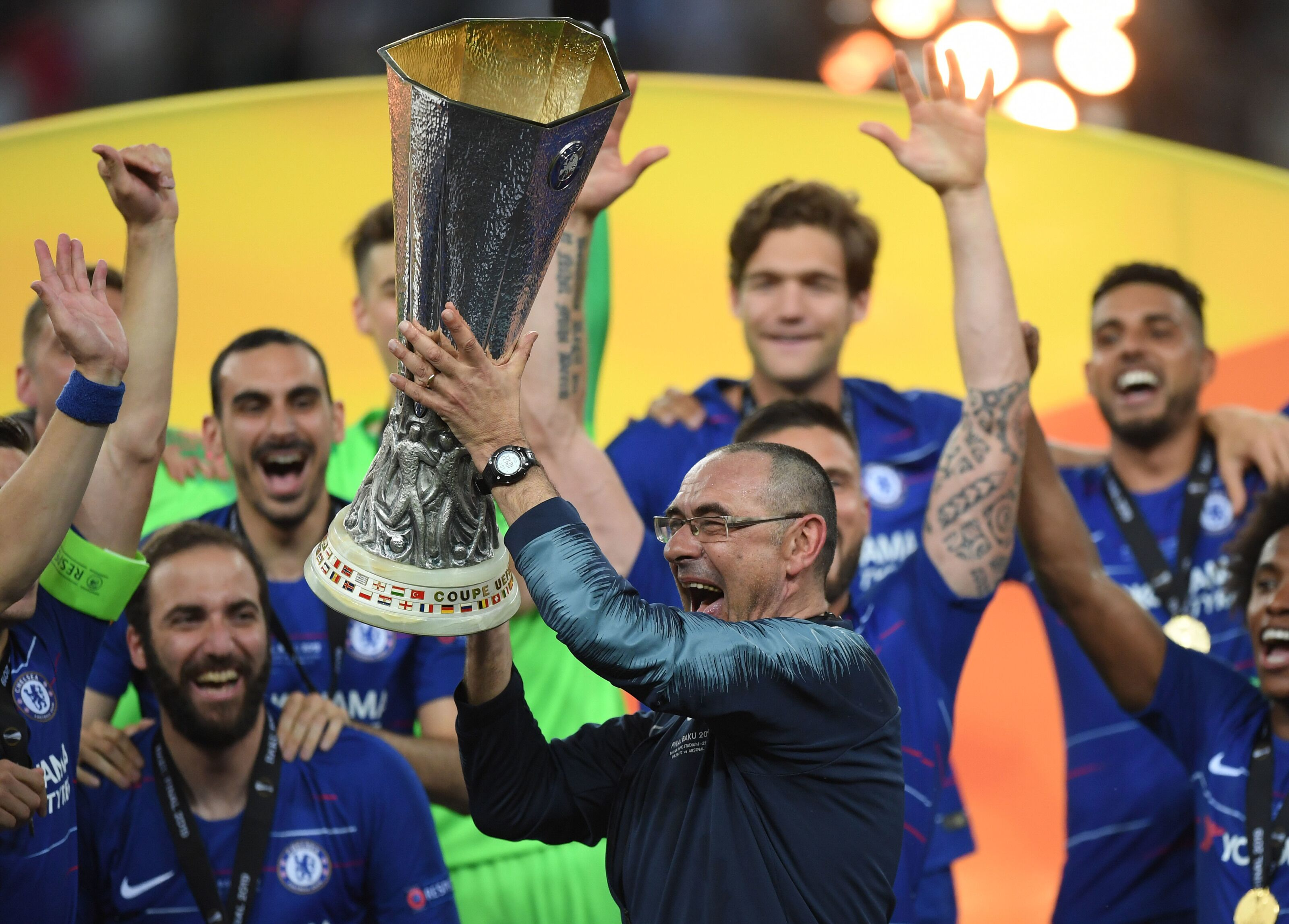 Maurizio Sarri finally confirmed as new Juventus manager