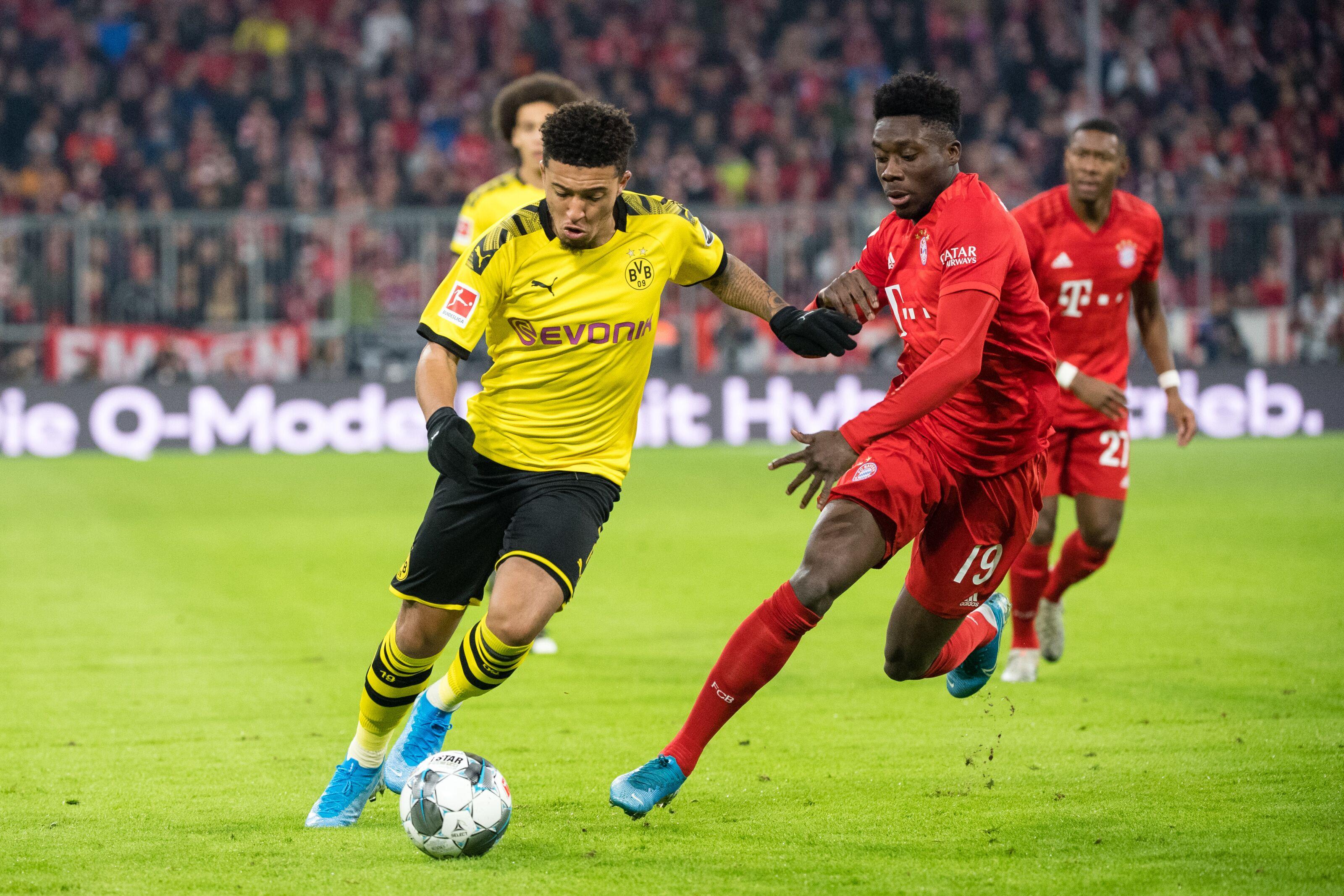 Jadon Sancho could leave Borussia Dortmund next summer