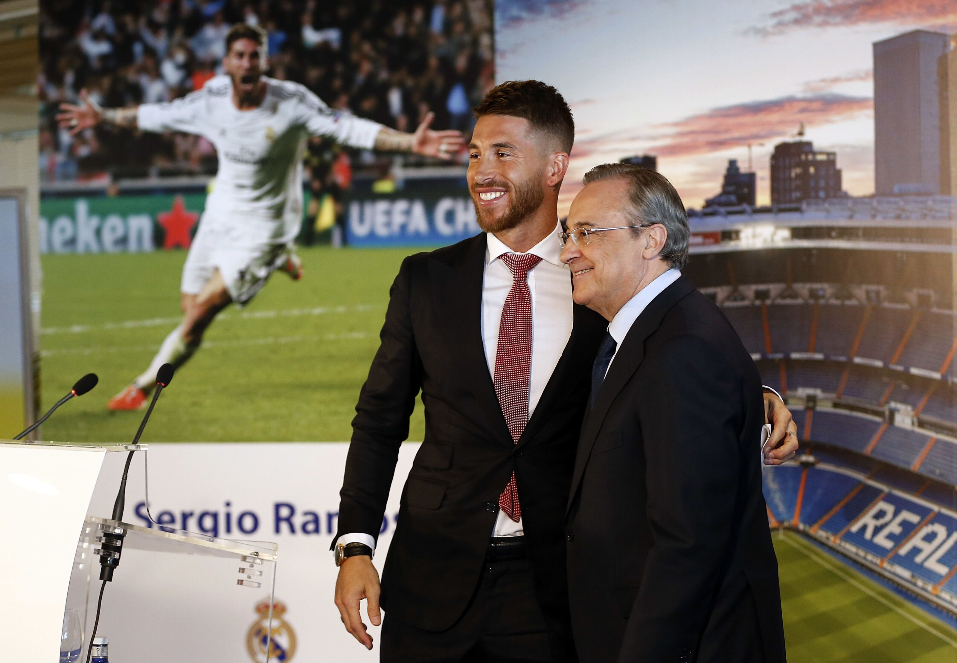 Real Madrid: Sergio Ramos and Florentino Perez veto Zinedine Zidane's target
