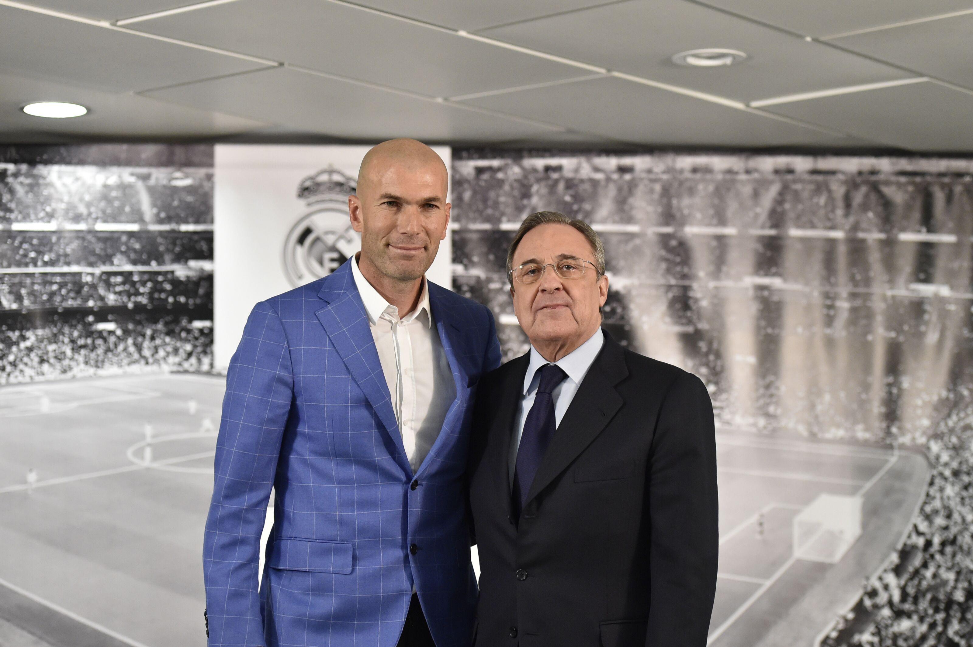 Real Madrid: Zinedine Zidane asks Florentino Perez to make three more signings