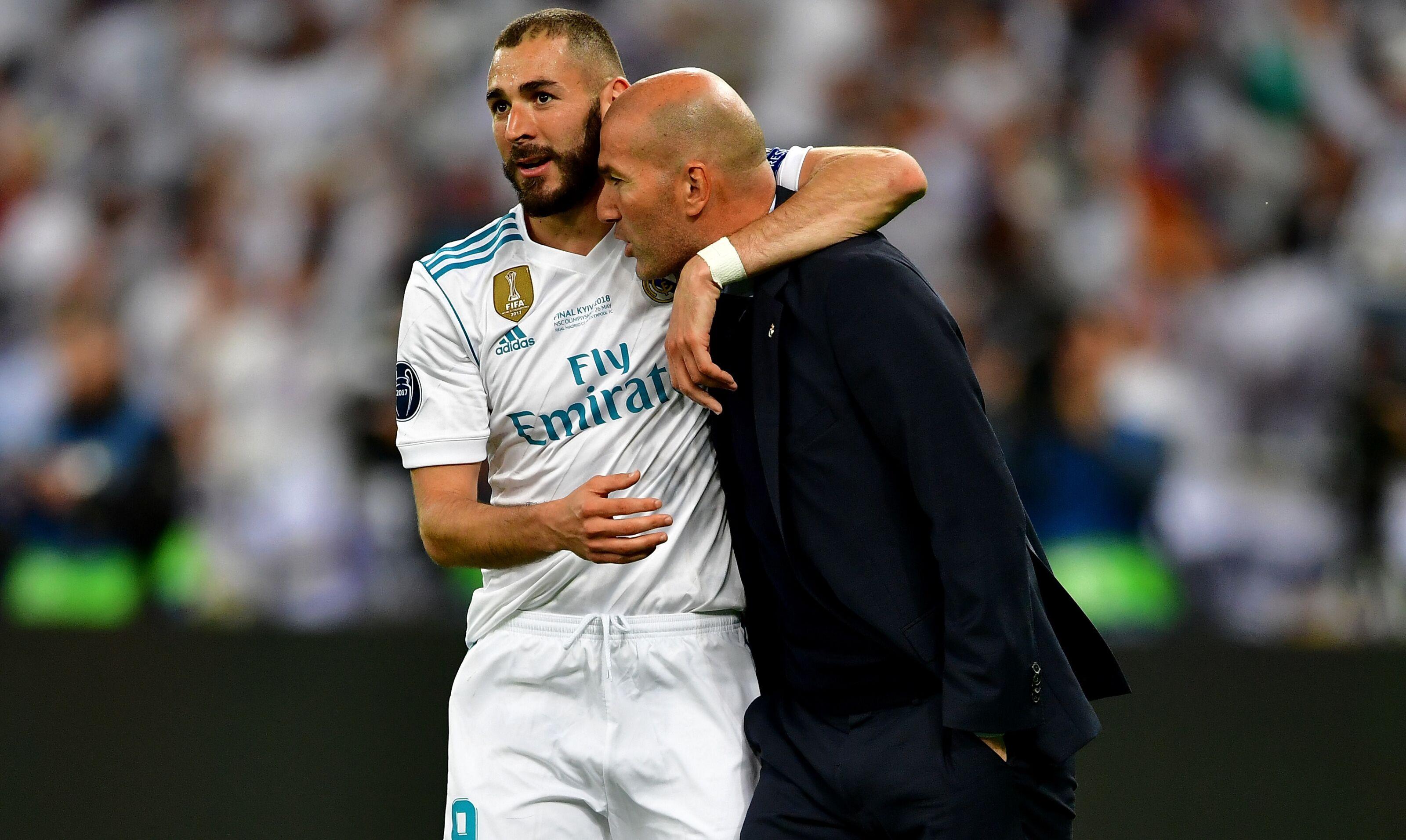 Real Madrid: Karim Benzema and Zinedine Zidane next season's strike options
